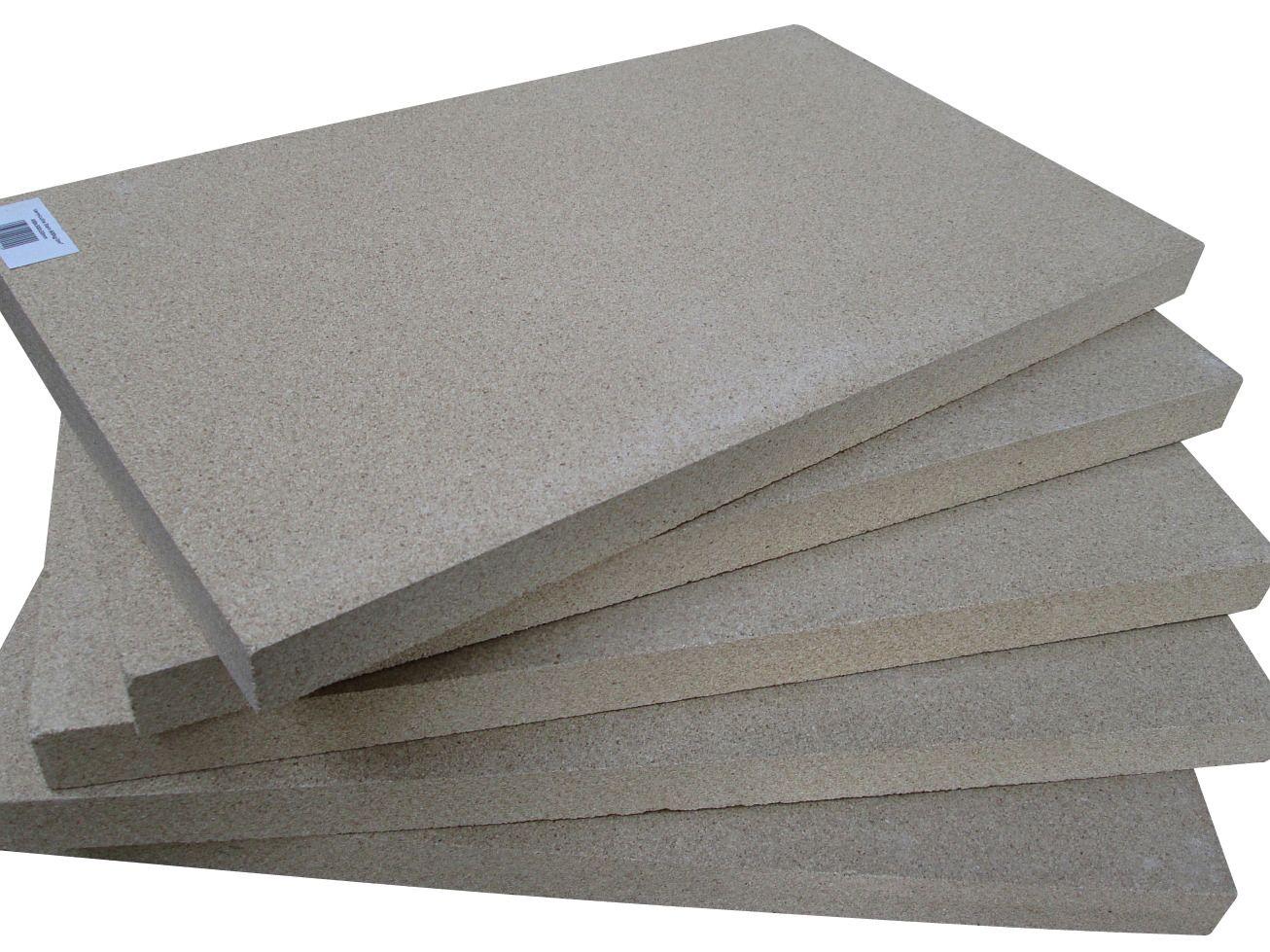 ZITEC 5er-Set Vermiculitplatten