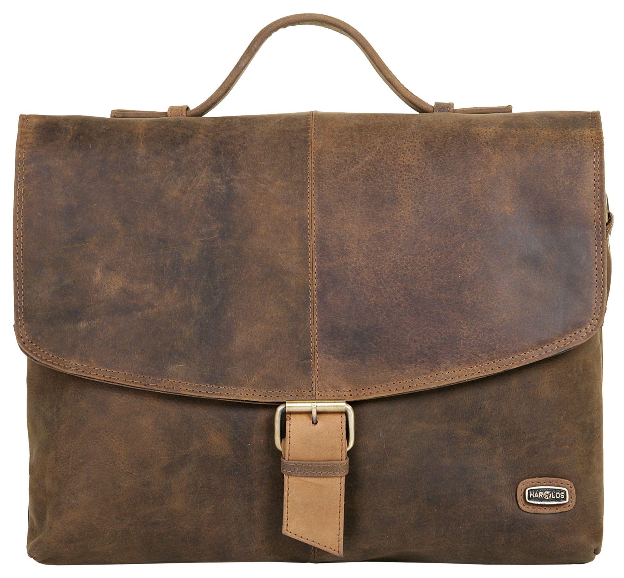 HAROLDS Harold's Leder Messengerbag »Antik«