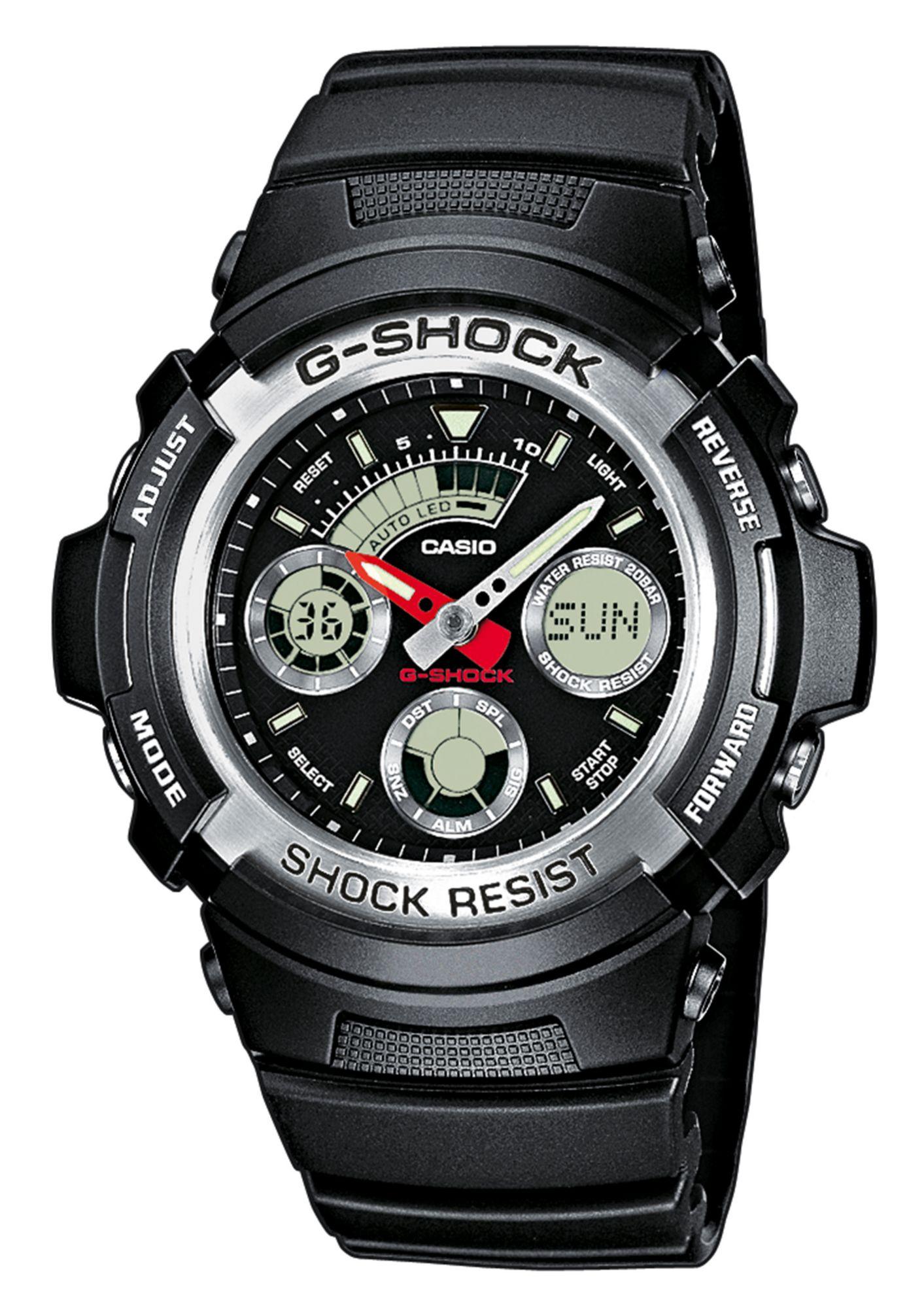 CASIO G SHOCK CASIO G-SHOCK Chronograph, »AW-590-1AER«