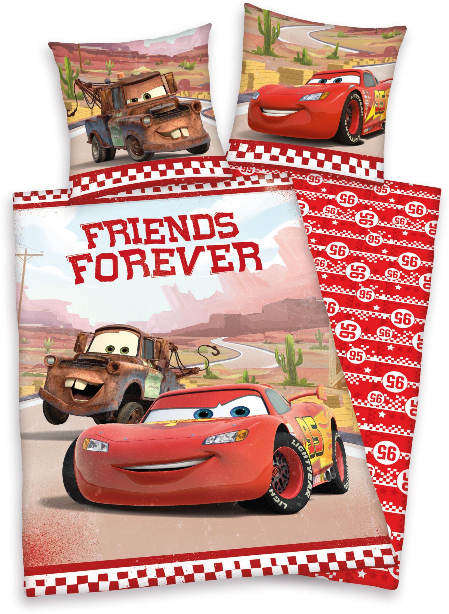 DISNEY Bettwäsche, Disney, »Cars«, Mc Queen und Freunde