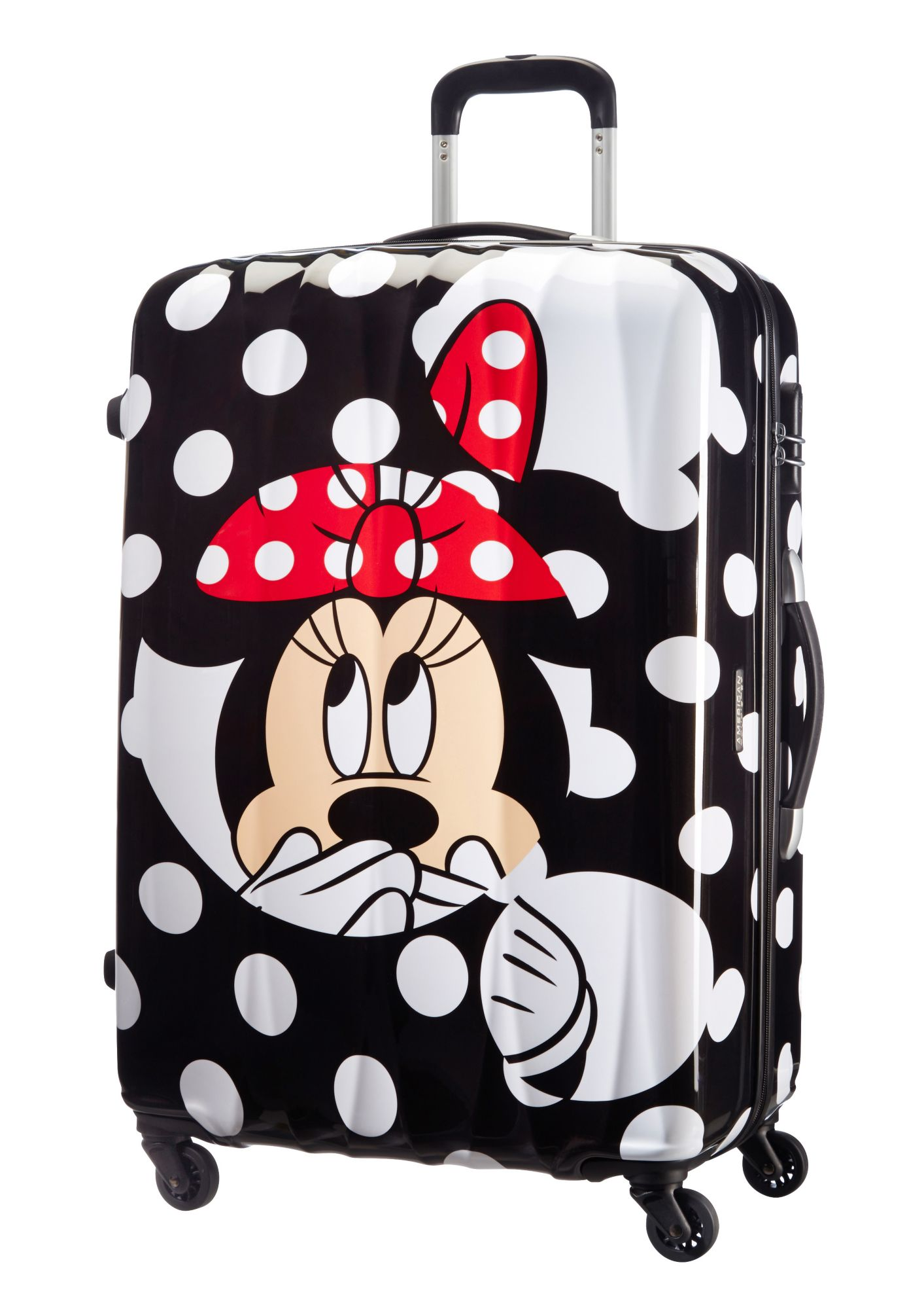 SAMSONITE American Tourister Hartschalen-Trolley, »Disney Minnie Mouse - Minnie Dots«