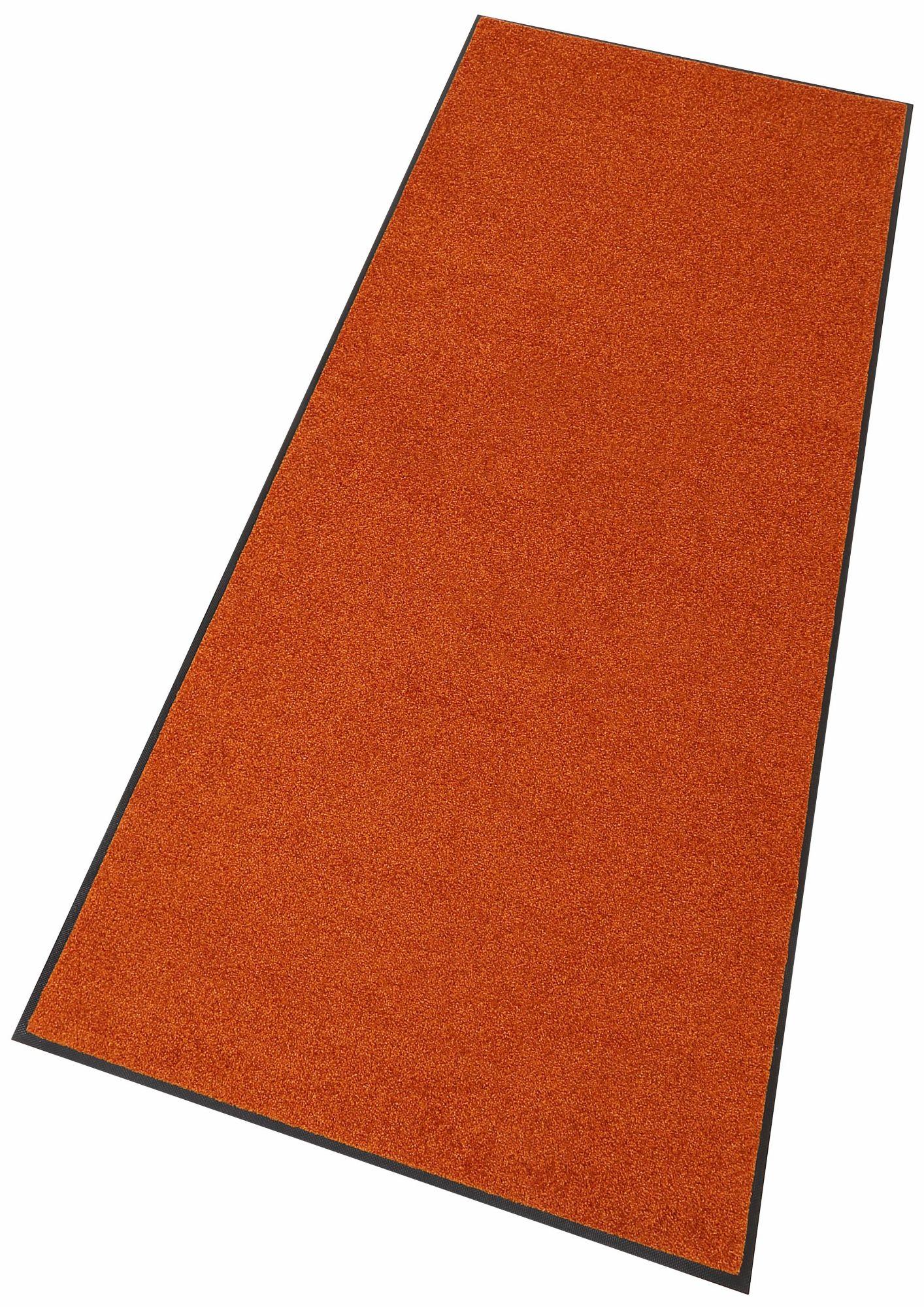 Läufer, »Trend Uni«, wash+dry by Kleen-Tex, rechteckig, Höhe 7 mm, gedruckt