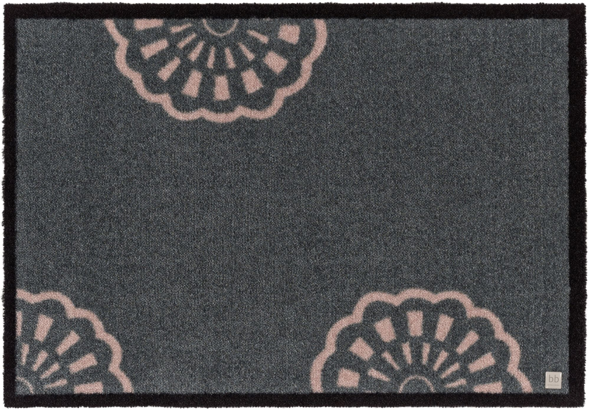 BARBARA BECKER Fußmatte, b.b home passion, »Lace«, rutschhemmend beschichtet