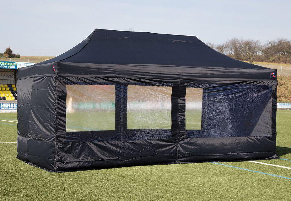 EXPRESSZELTE ExpressZelte Zelt, 4 x 8 Meter, schwarz