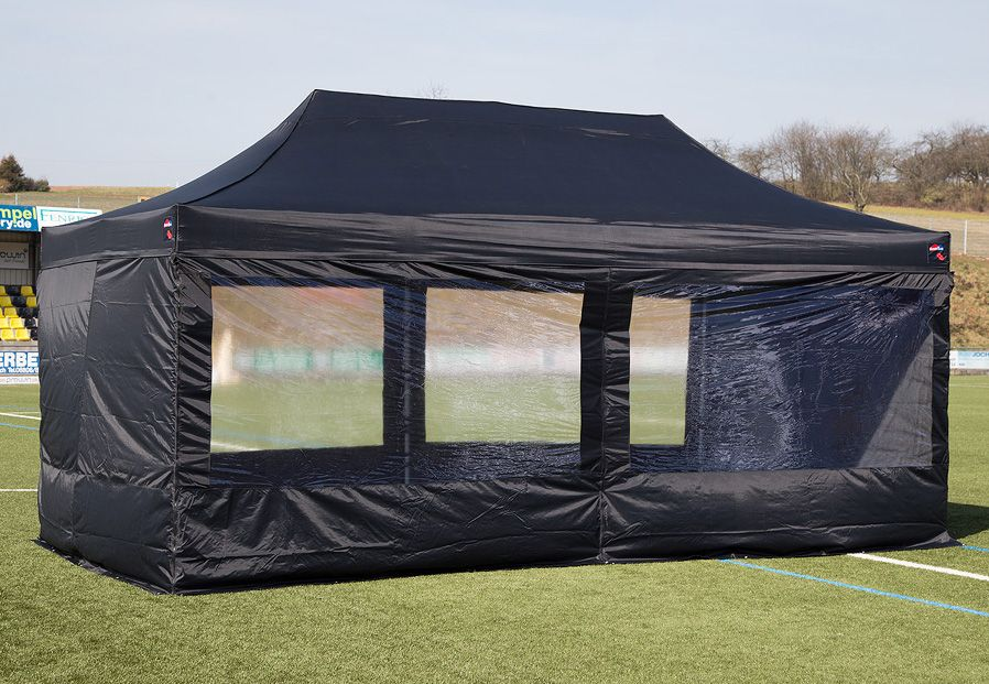 EXPRESSZELTE ExpressZelte Zelt, 4 x 6 Meter, schwarz