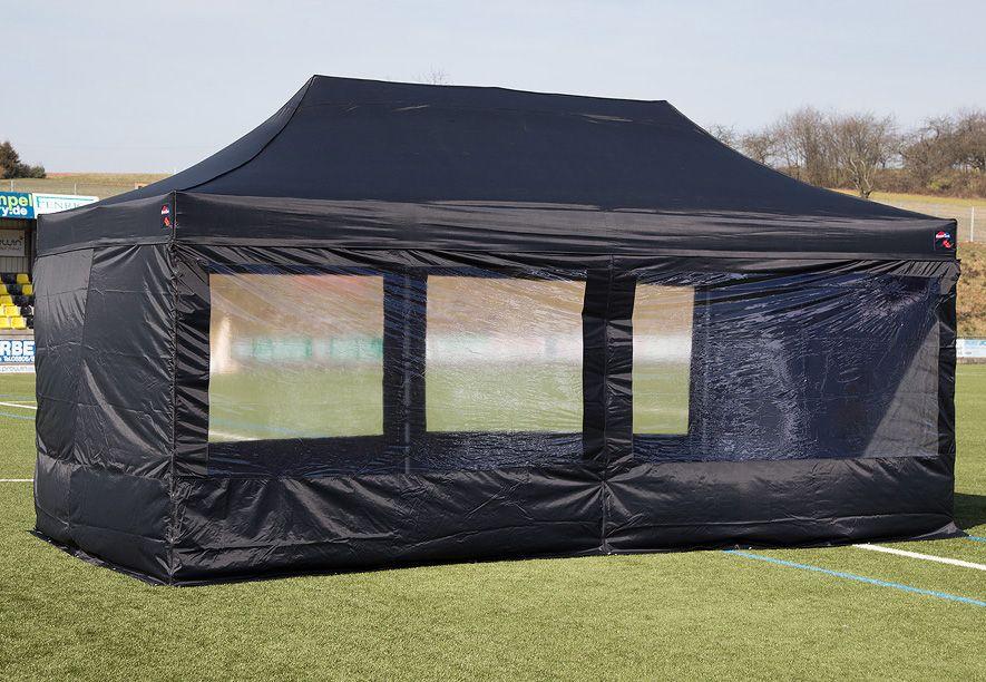 EXPRESSZELTE ExpressZelte Zelt, 3 x 6 Meter, schwarz