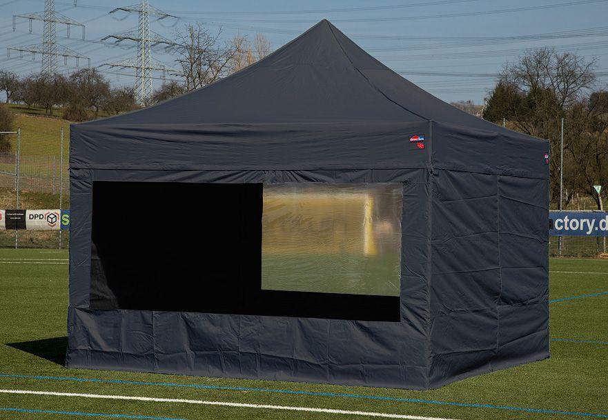 EXPRESSZELTE ExpressZelte Zelt, 3 x 4,5 Meter, schwarz