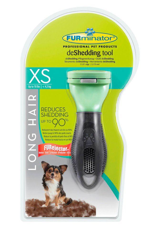 FURMINATOR Furminator Hundepflegebürste »FURminator deShedding Langhaar XS«