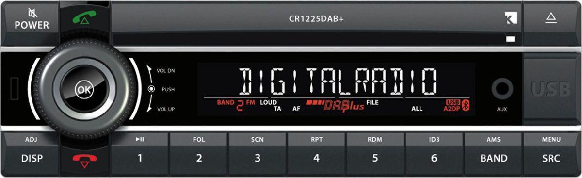 AXION Axion Autoradio »CR 1225 DAB+ (CD/SD/USB/MP3/BT/DAB+)«