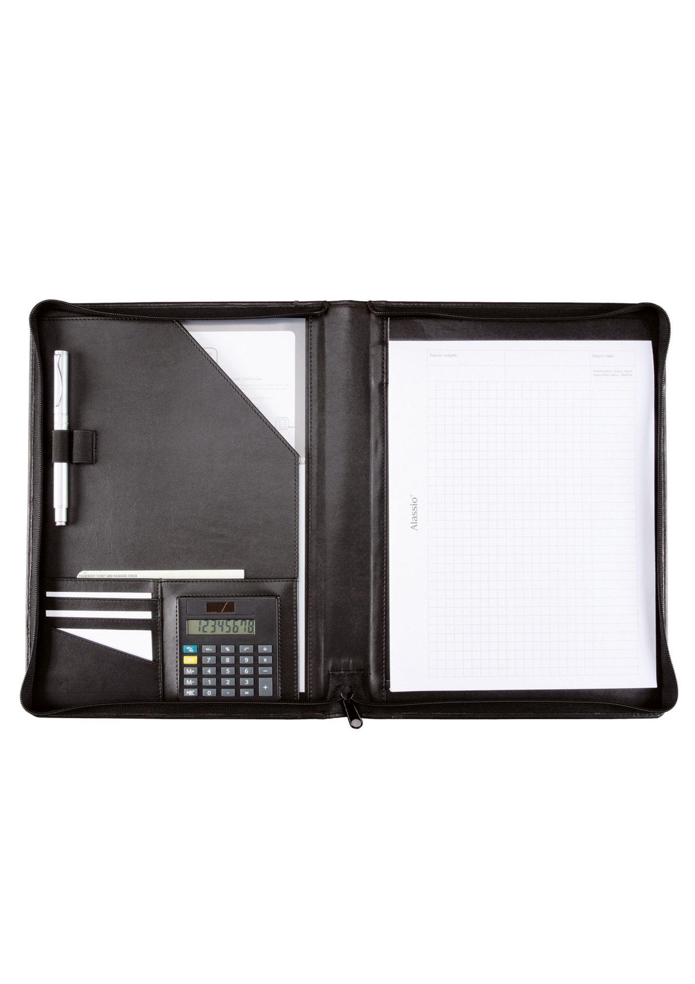 ALASSIO® Alassio® Schreibmappe mit Reißverschluss A4, »Catana«