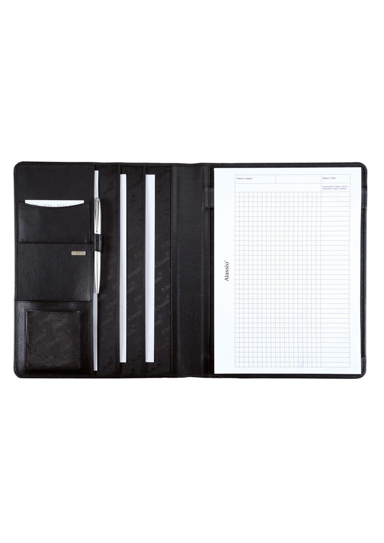 ALASSIO® Alassio® Schreibmappe aus Nappaleder A4, »Cremona«