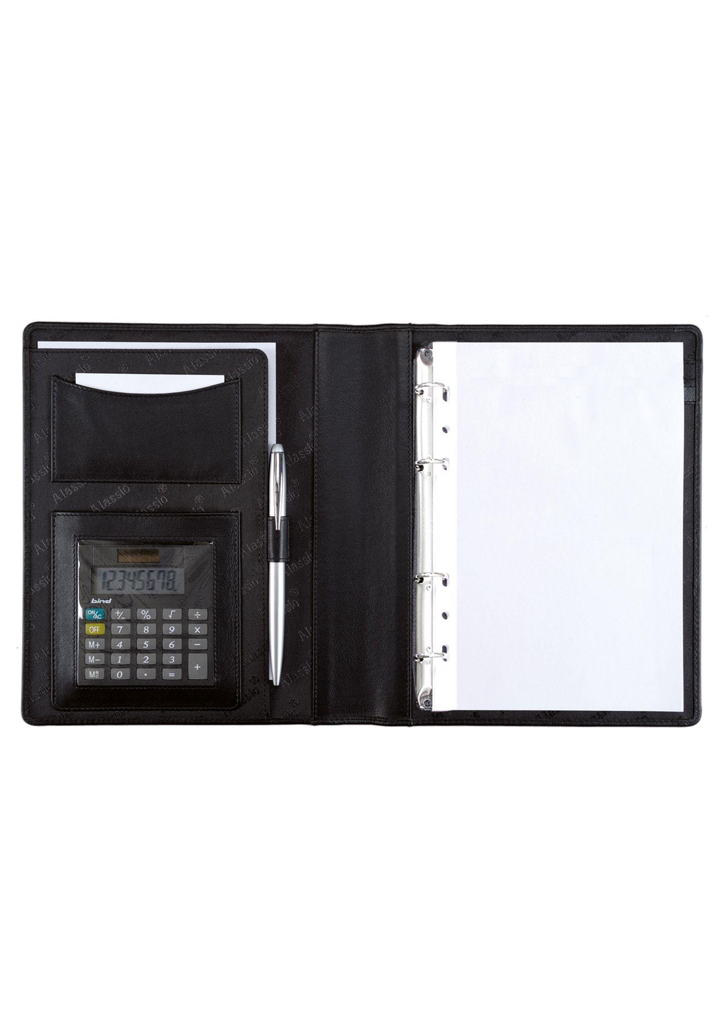 ALASSIO® Alassio® Ringbuchmappe mit Taschenrechner A5, »Benaco«