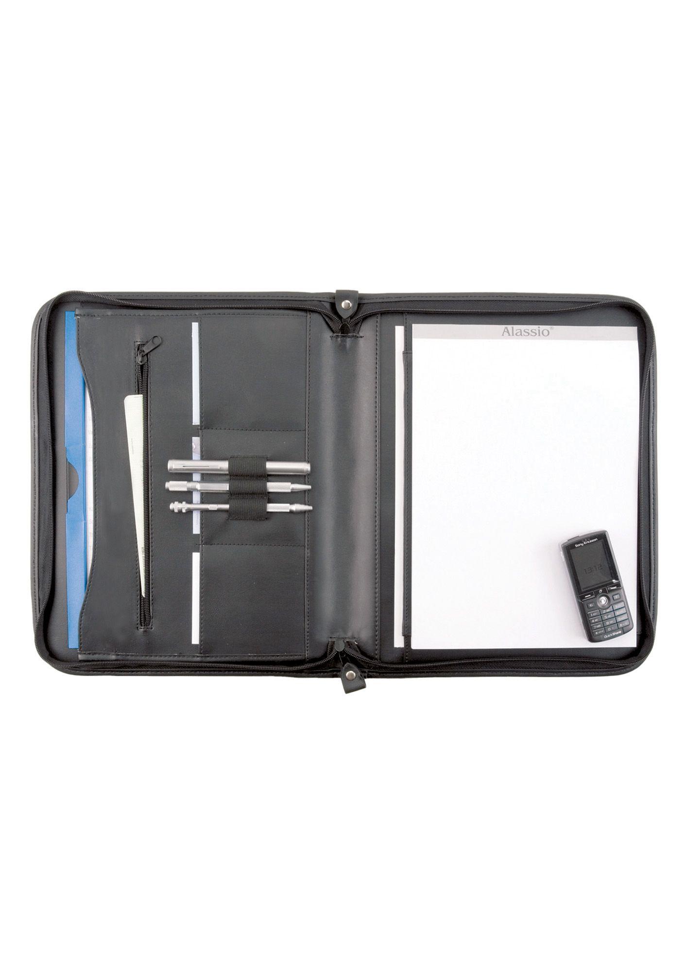 ALASSIO® Alassio® Schreibmappe mit Reißverschluss A4, »Milano«