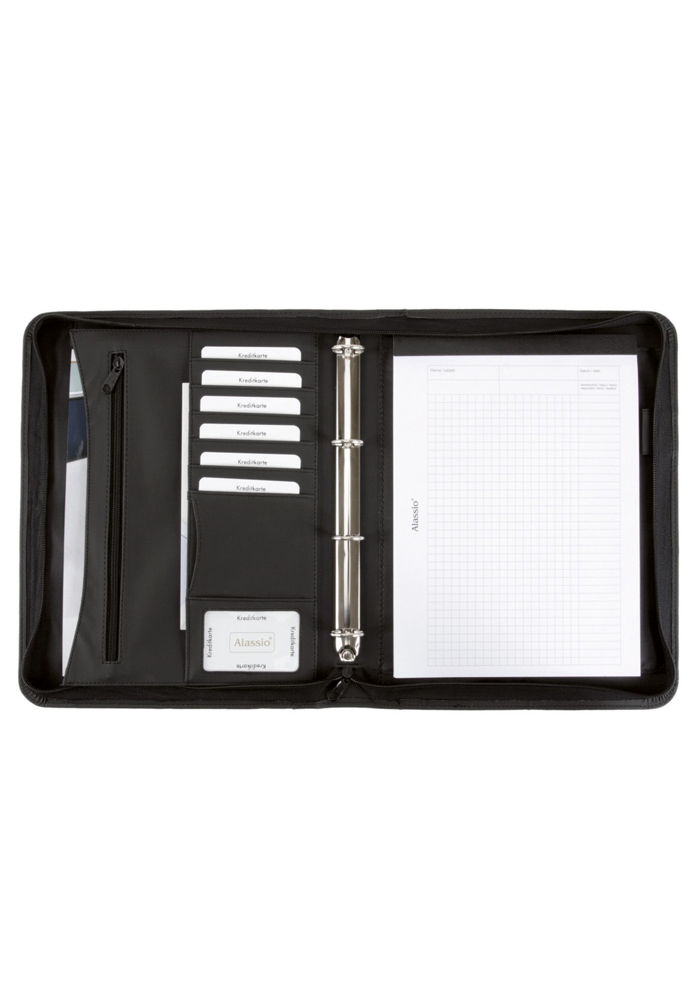 ALASSIO® Alassio® Ringbuchmappe mit Zubehör A4, »Office Set«