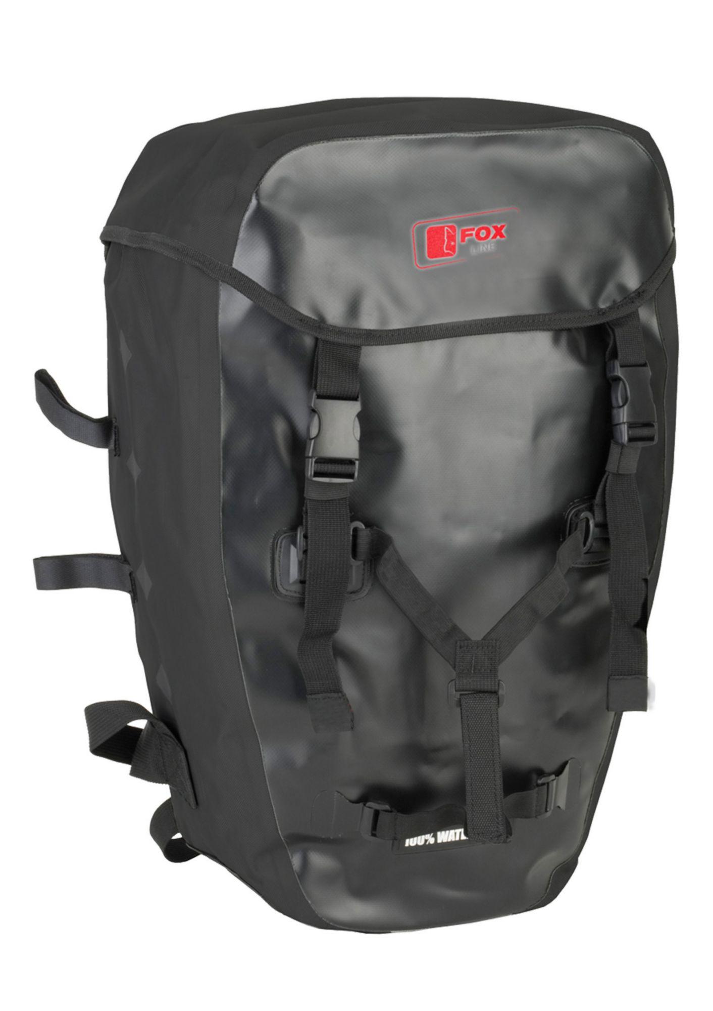 FOX LINE Fox Line Fahrradrucksack für Gepäckträger, schwarz