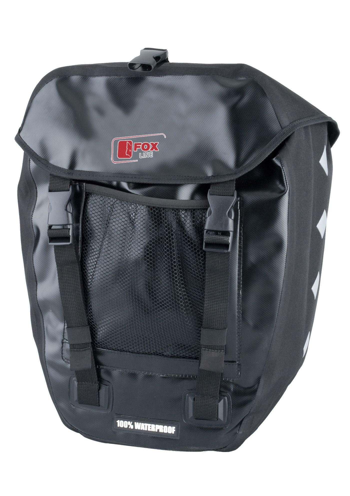 FOX LINE Fox Line Fahrradtasche für Gepäckträger, schwarz