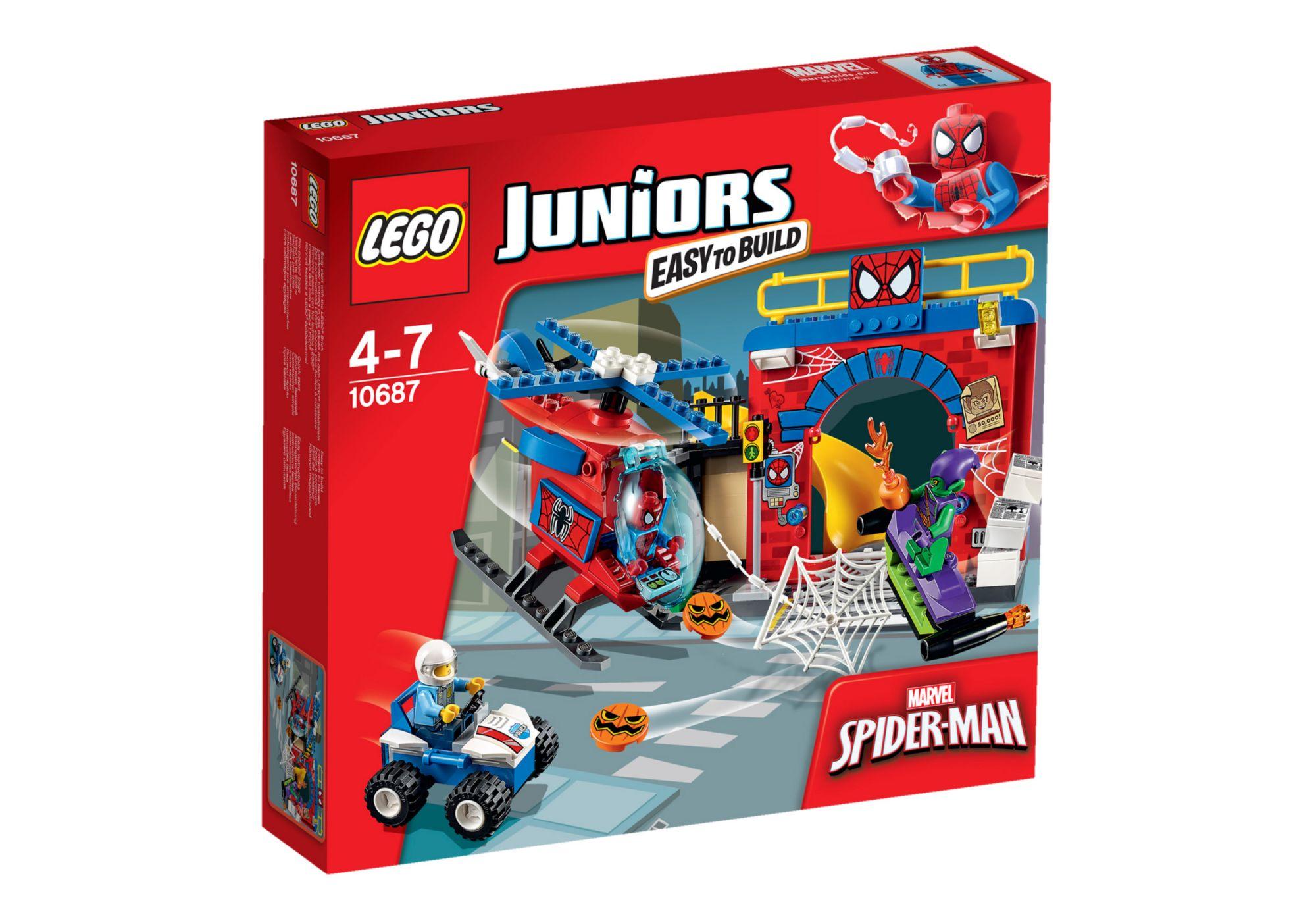 LEGO® 10687 Juniors Spider-Man Versteck, Konstruktionsspielzeug