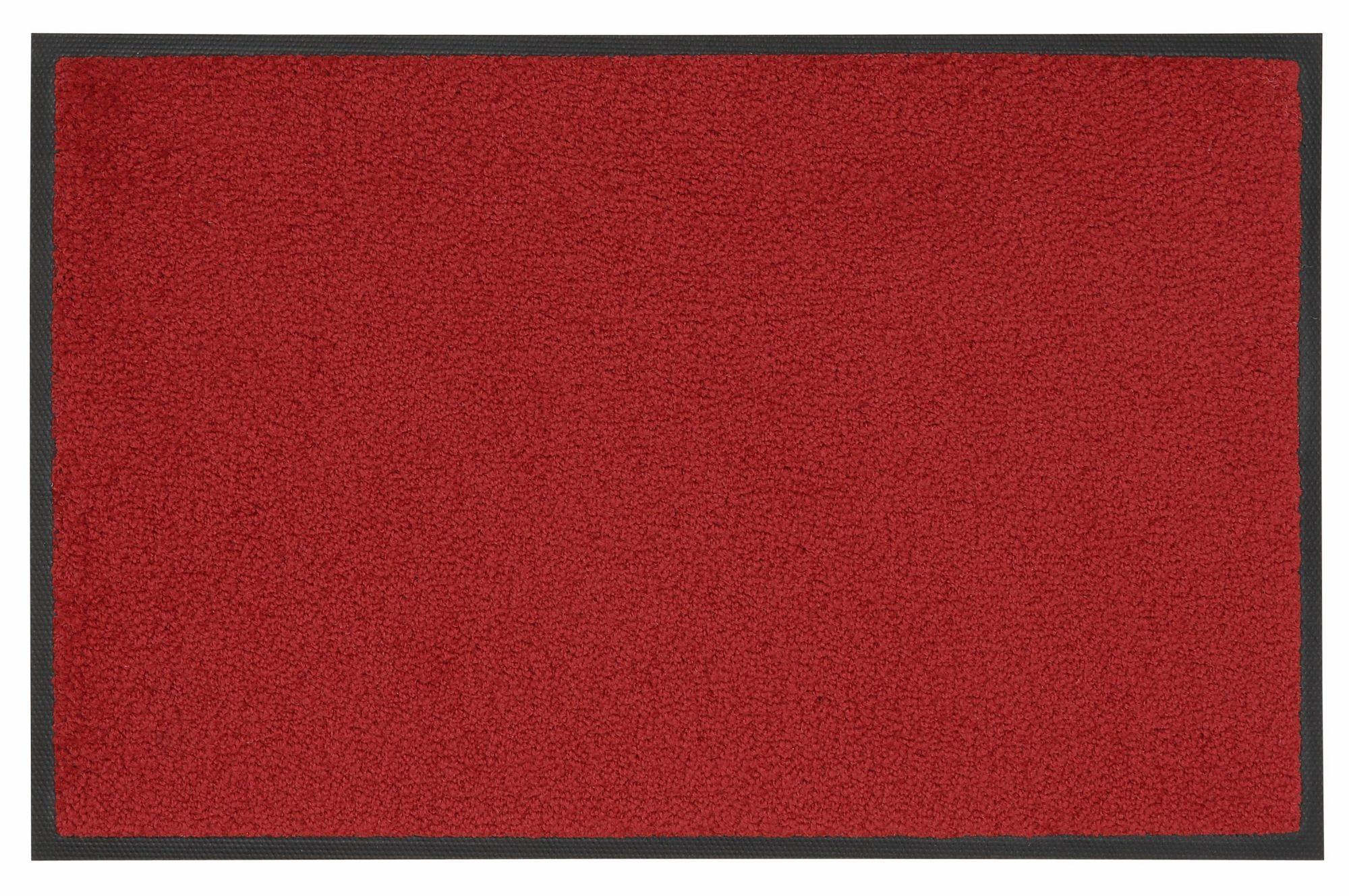 Fußmatte, »Original Uni«, wash+dry by Kleen-Tex, rechteckig, Höhe 7 mm, gedruckt