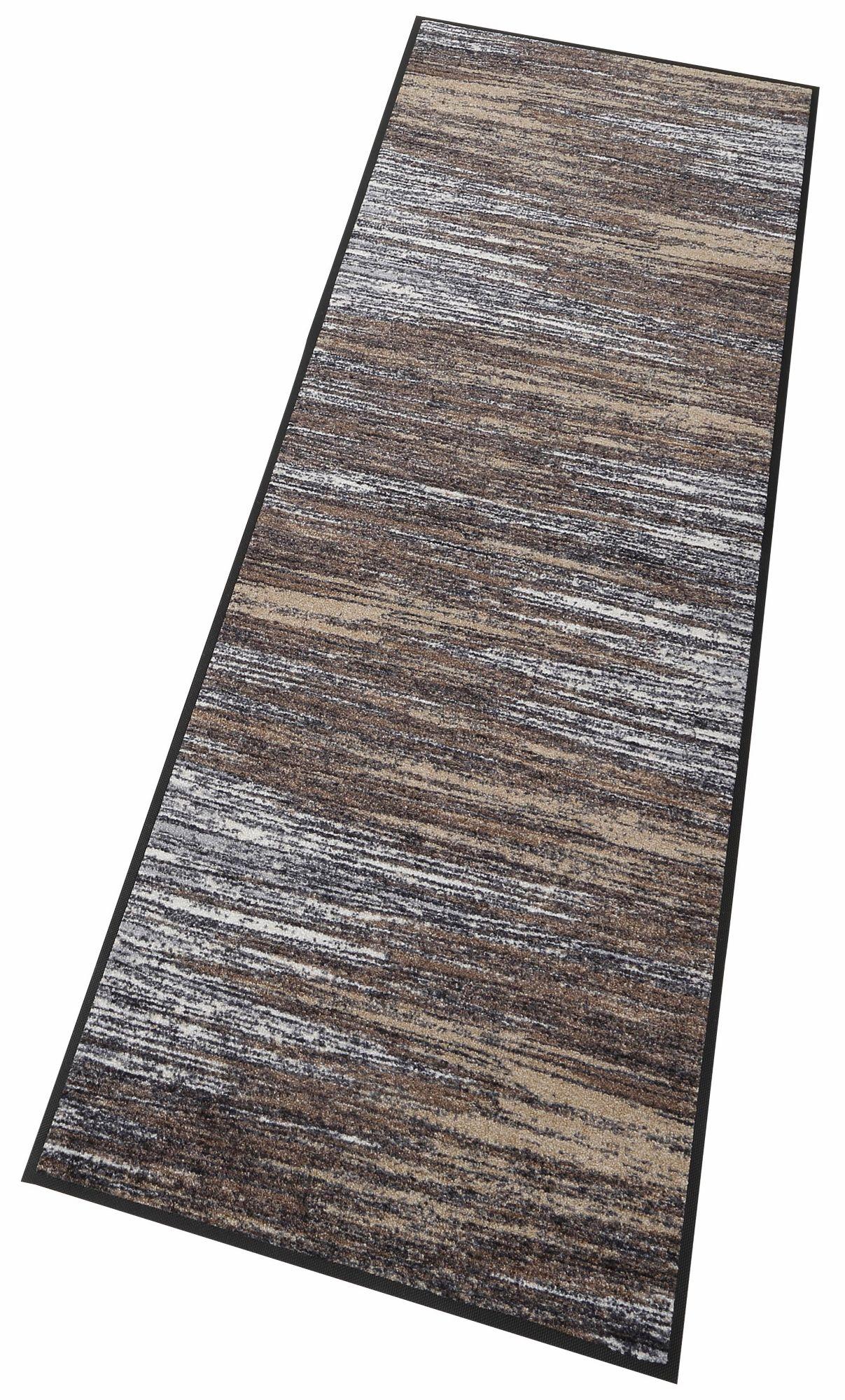 Läufer, »Scratchy«, wash+dry by Kleen-Tex, rechteckig, Höhe 7 mm, gedruckt