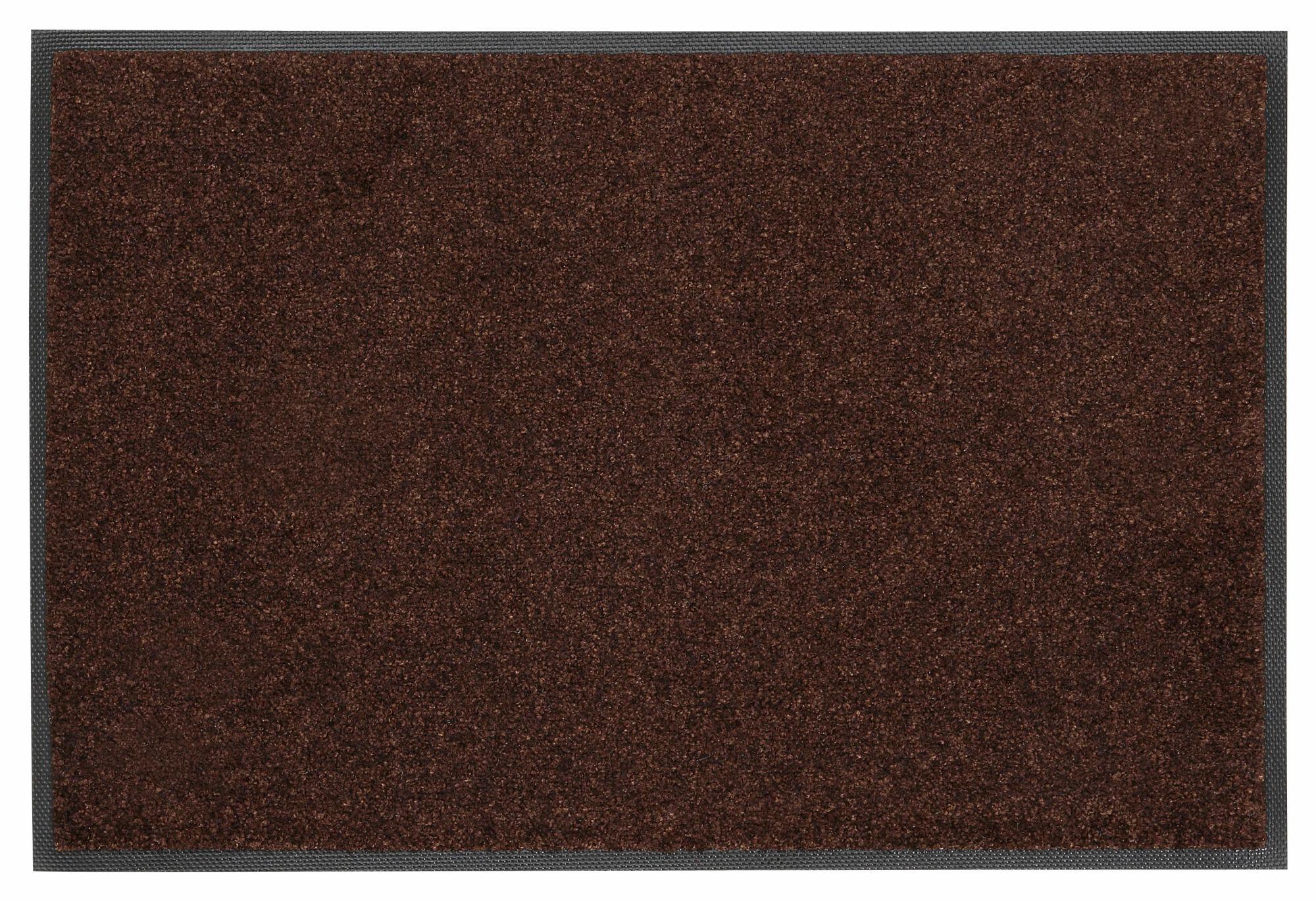 Fußmatte, »Trend Uni«, wash+dry by Kleen-Tex, rechteckig, Höhe 7 mm, gedruckt