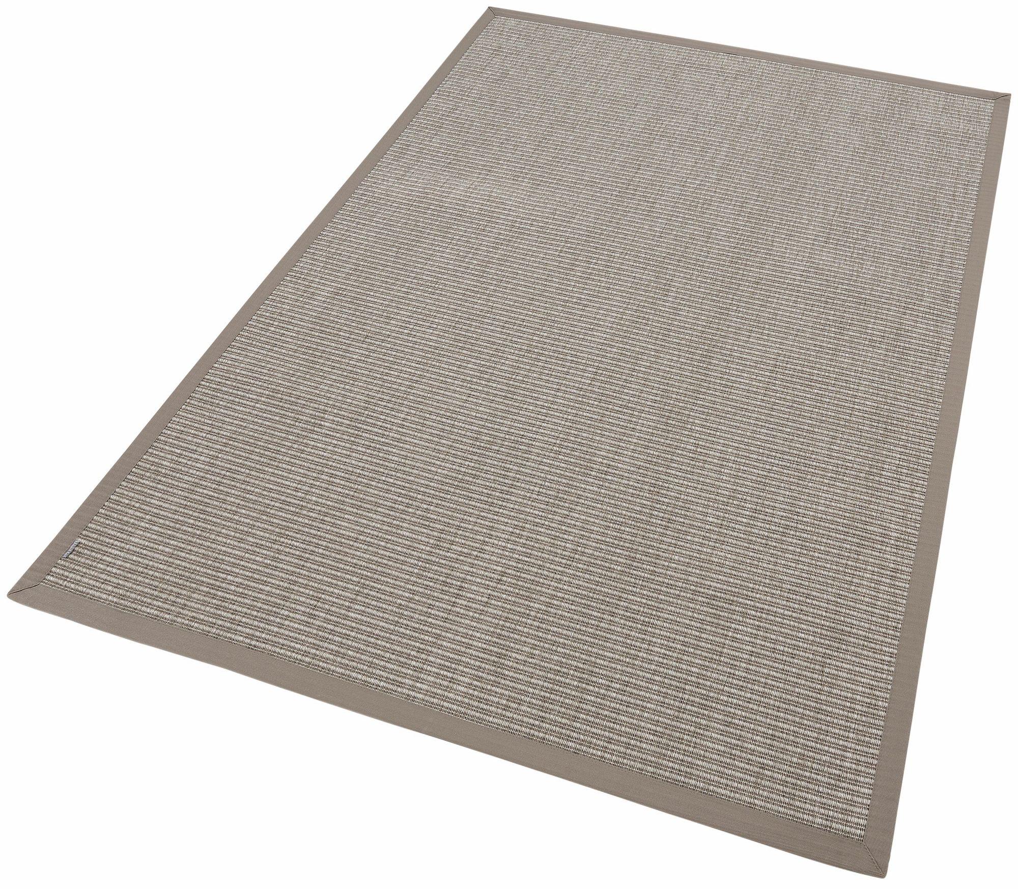 DEKOWE Teppich, Dekowe, »Naturino Tweed«, Melange-Effekt, Sisaloptik, Wunschmaß
