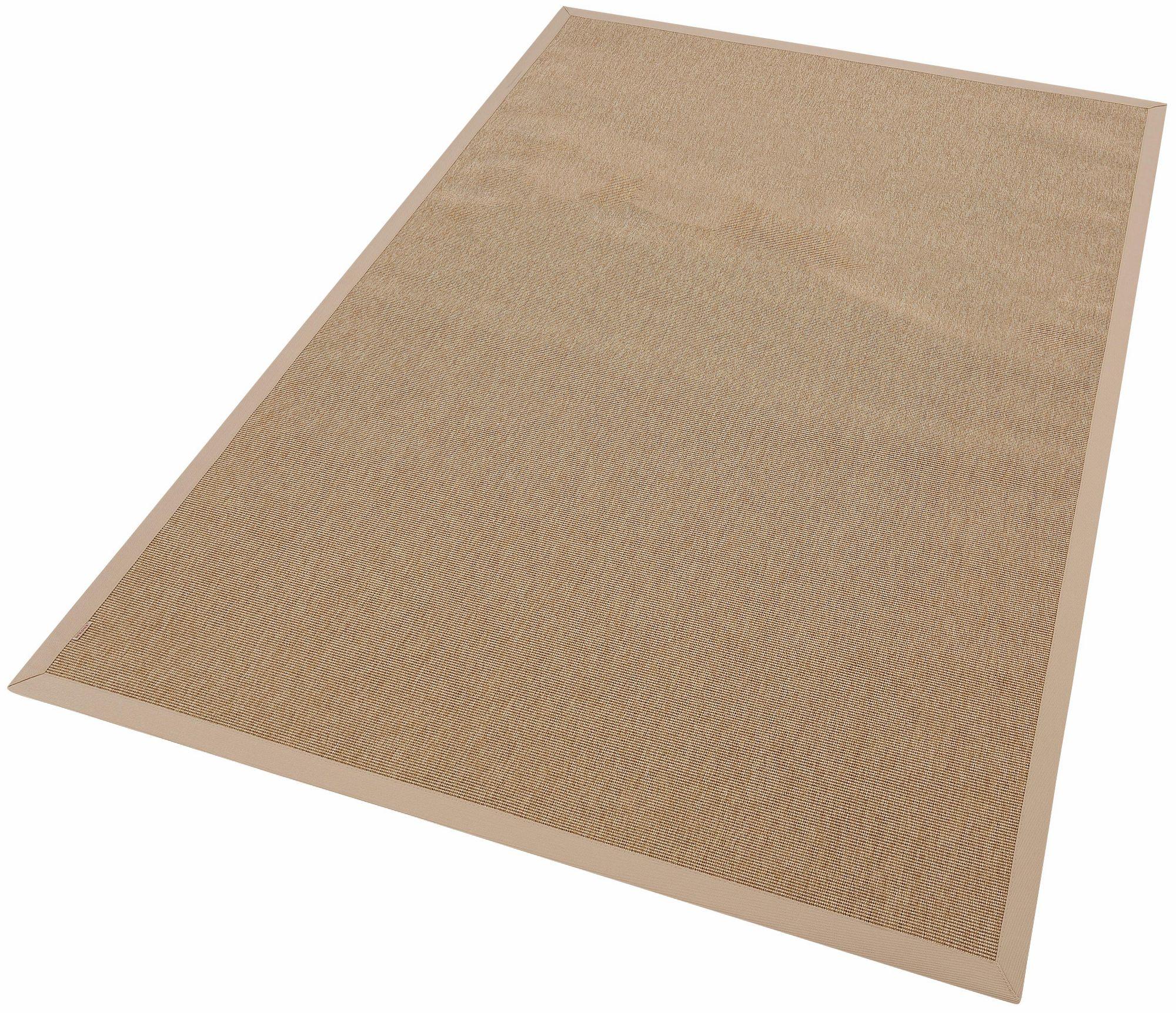 DEKOWE Teppich, Dekowe, »Naturino Rips«, In- und Outdoor geeignet, Sisaloptik