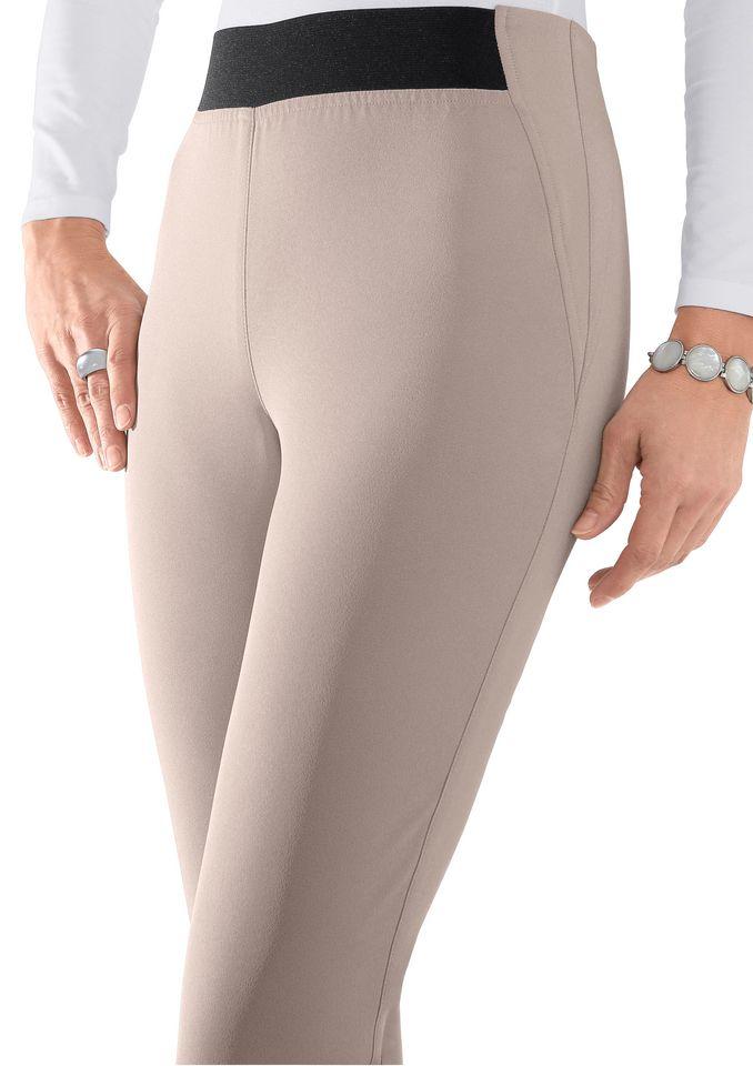CLASSIC BASICS Classic Basics Hose mit Gummizug vorne und hinten