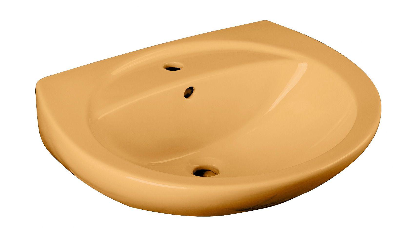 CORNAT Cornat Keramik Waschtisch / Waschbecken »Curry«, Breite 60,5 cm
