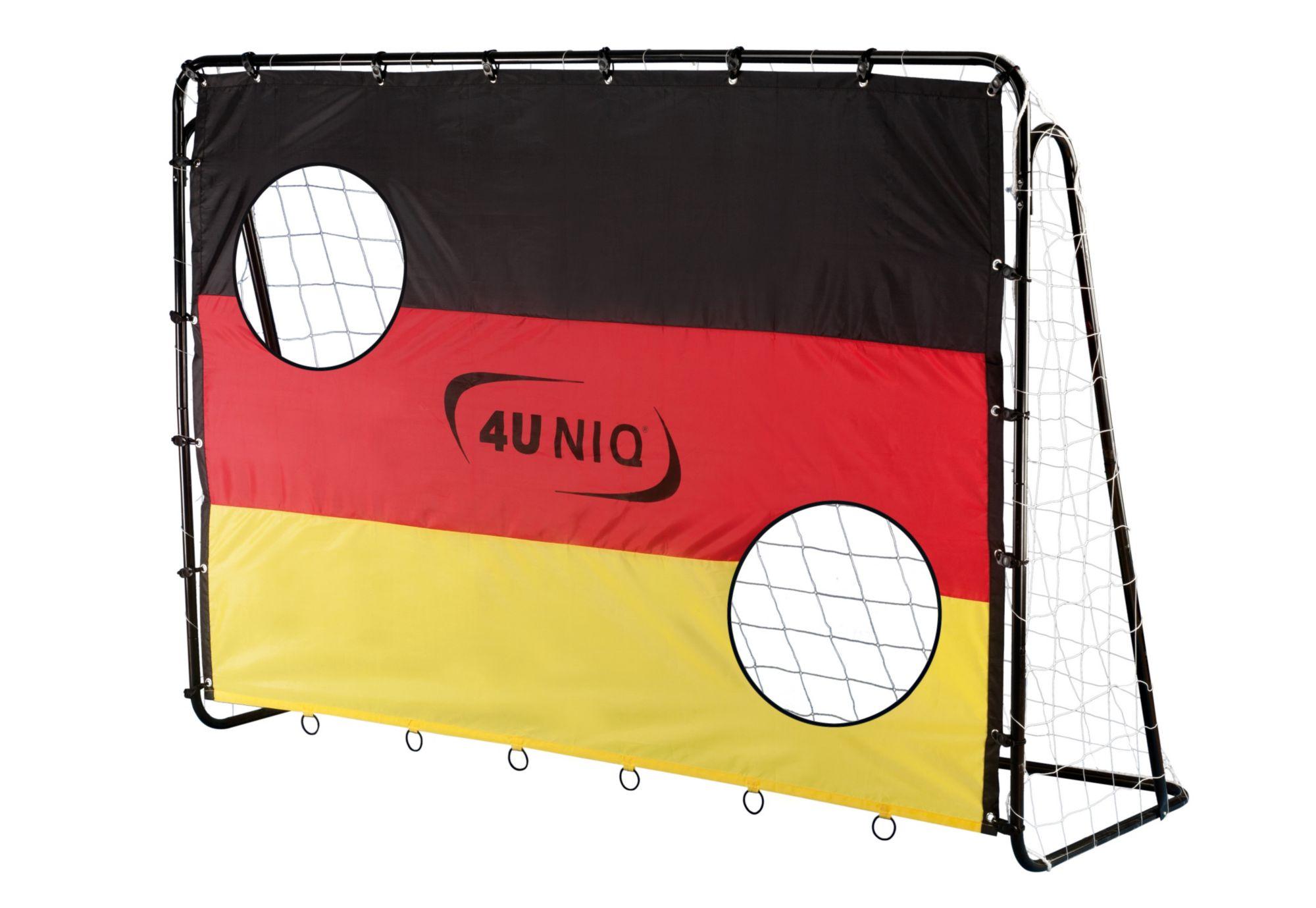 4UNIQ 4Uniq Fußballtor mit Torwand, »Champion Germany«
