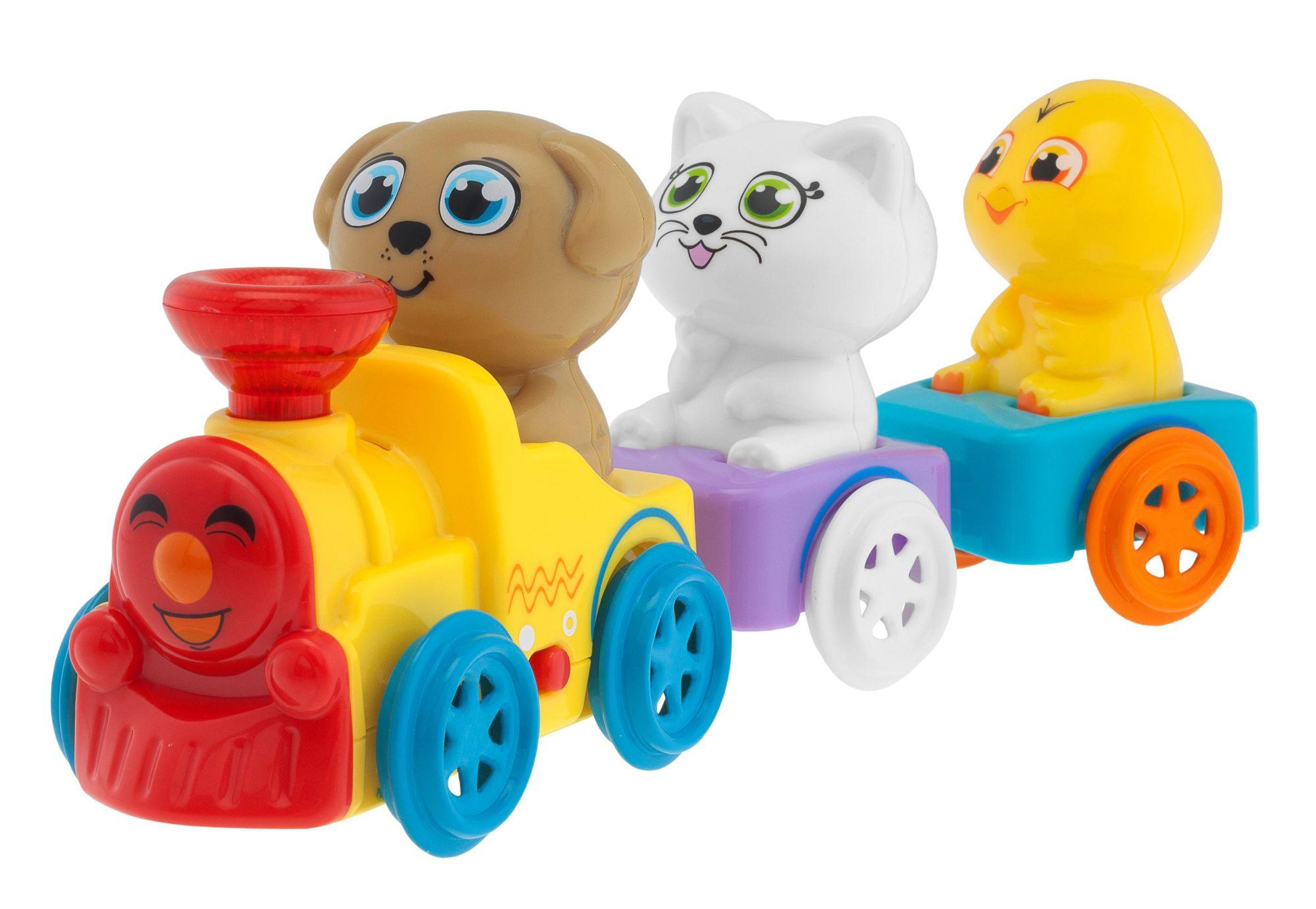 CHICCO Chicco®, Kinderspielzeug »Musikzug der Tiere«