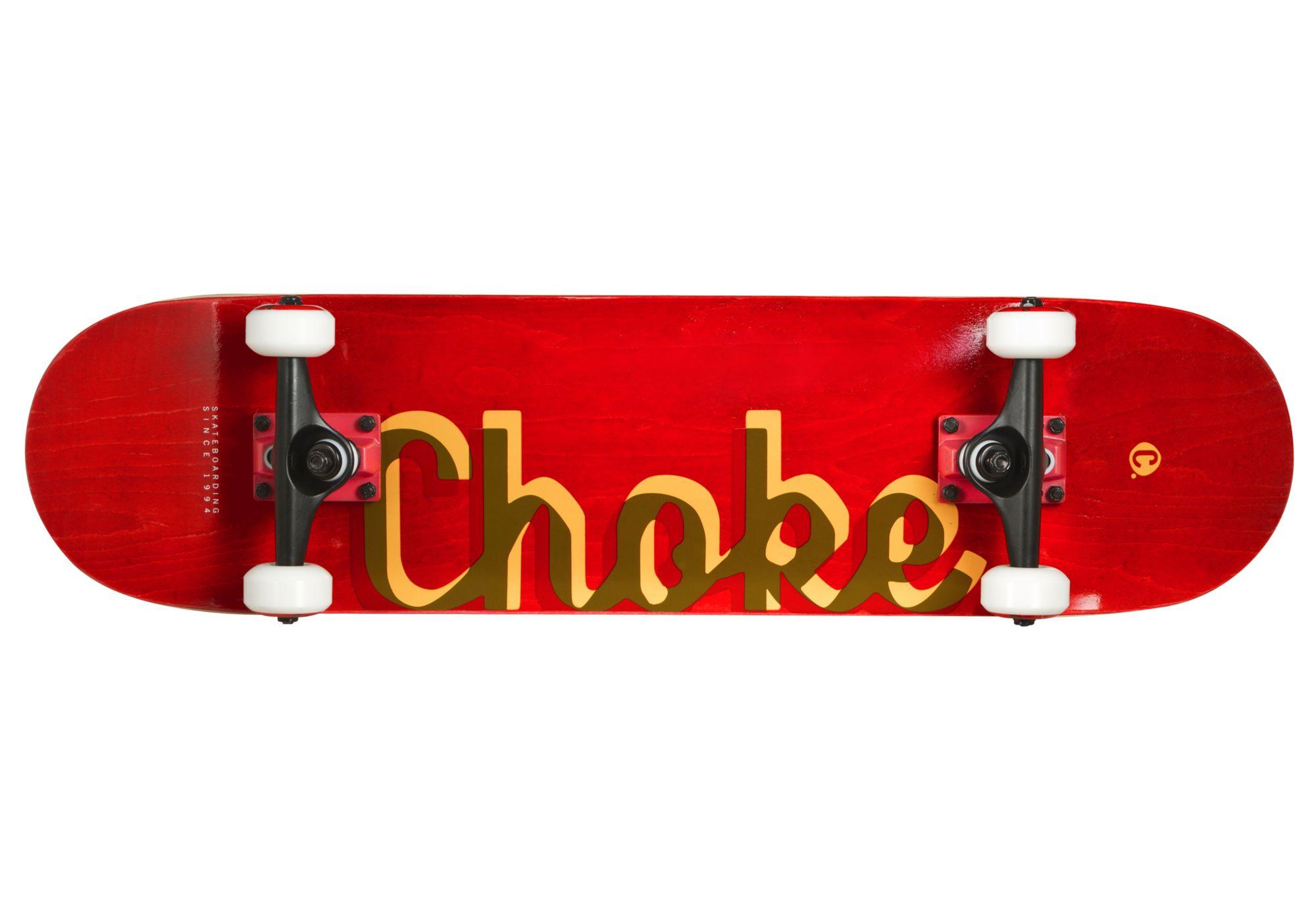 CHOKE Choke Skateboard, »The Red«