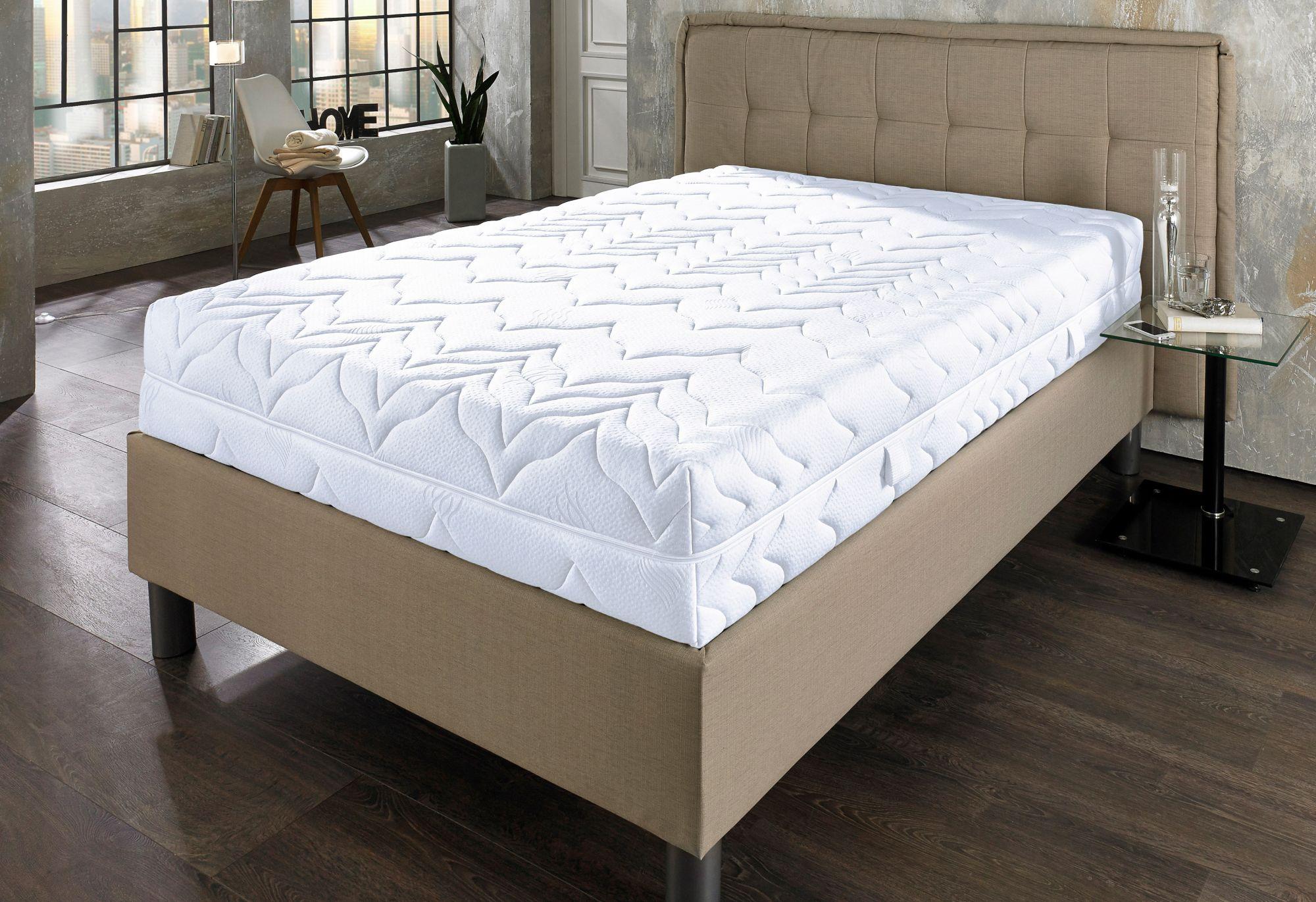 BECO Komfortschaummatratze, »Maxi Big KS«, BeCo, 29 cm hoch, Raumgewicht: 30, mit besonders wirksamen 7 Liegezonen