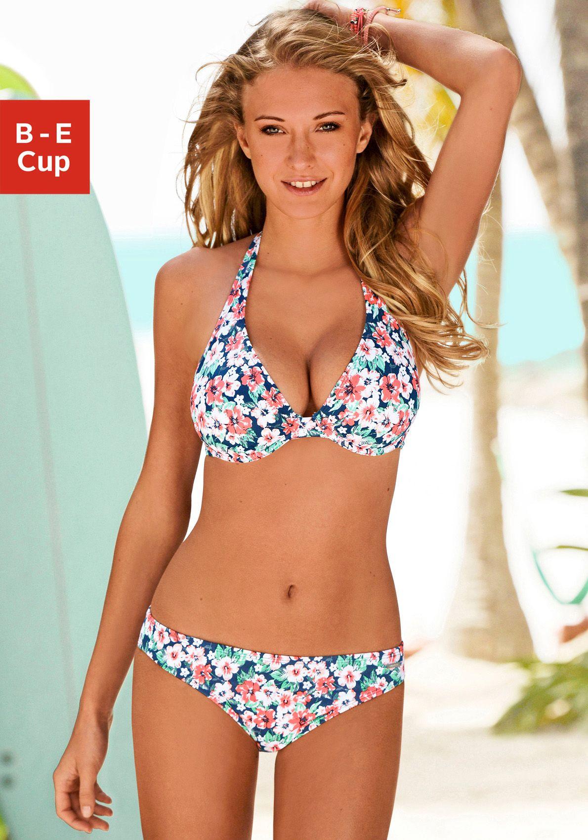 CHIEMSEE Chiemsee Bügel-Bikini im schönen Blumenprint