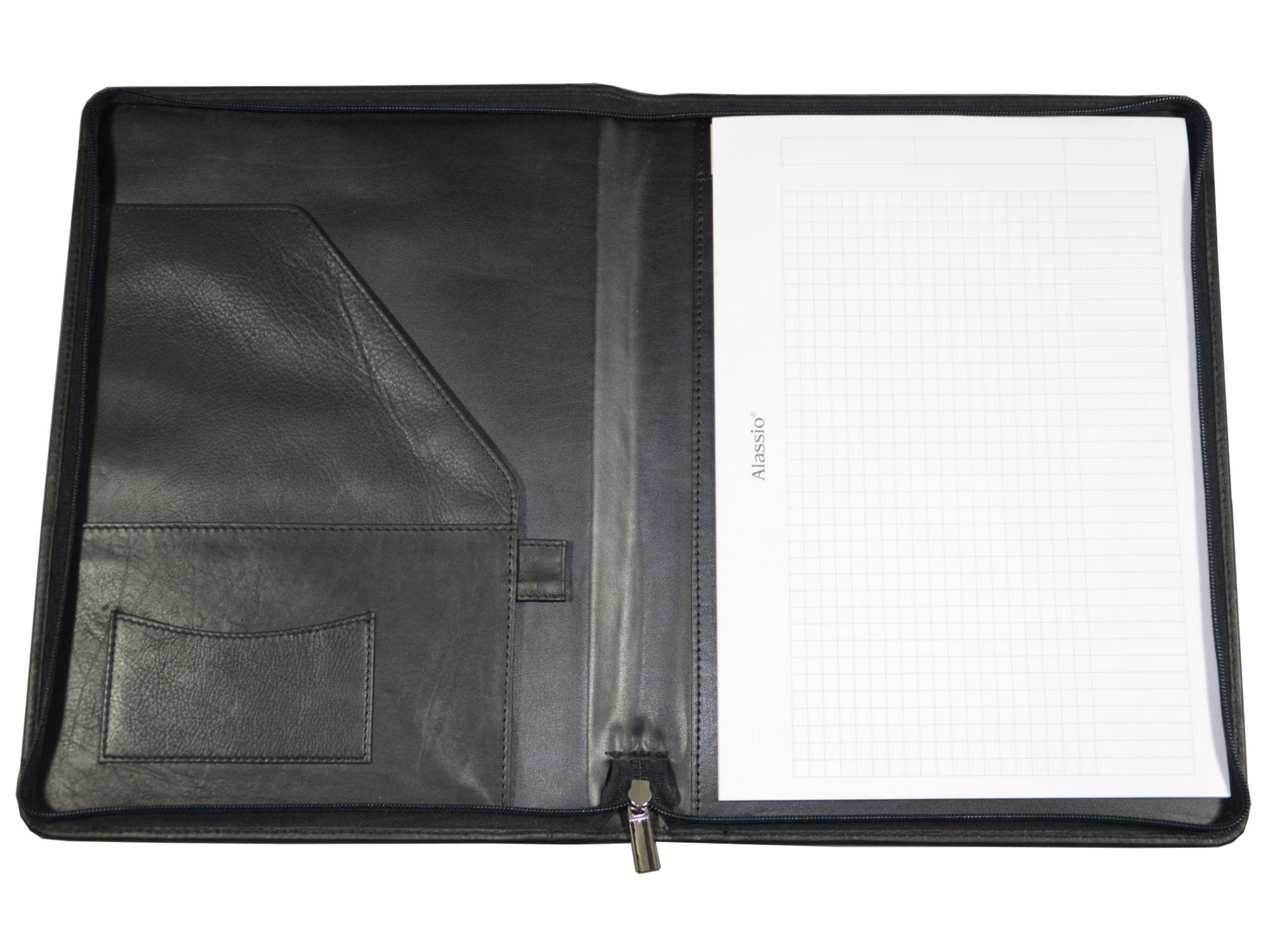 ALASSIO® Alassio® Schreibmappe aus Leder A4, »Vallo«