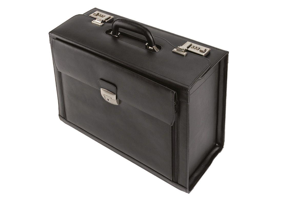 ALASSIO® Alassio® Pilotenkoffer aus Leder mit Laptopfach, »Ferrara«