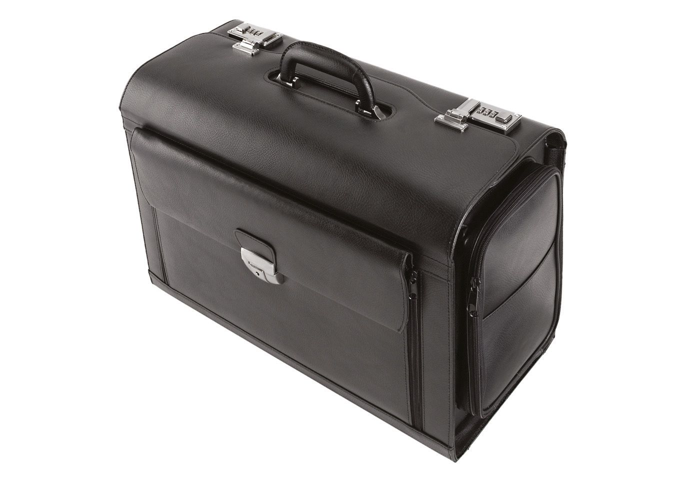 ALASSIO® Alassio® Pilotenkoffer aus Leder mit Laptopfach, »Verona«