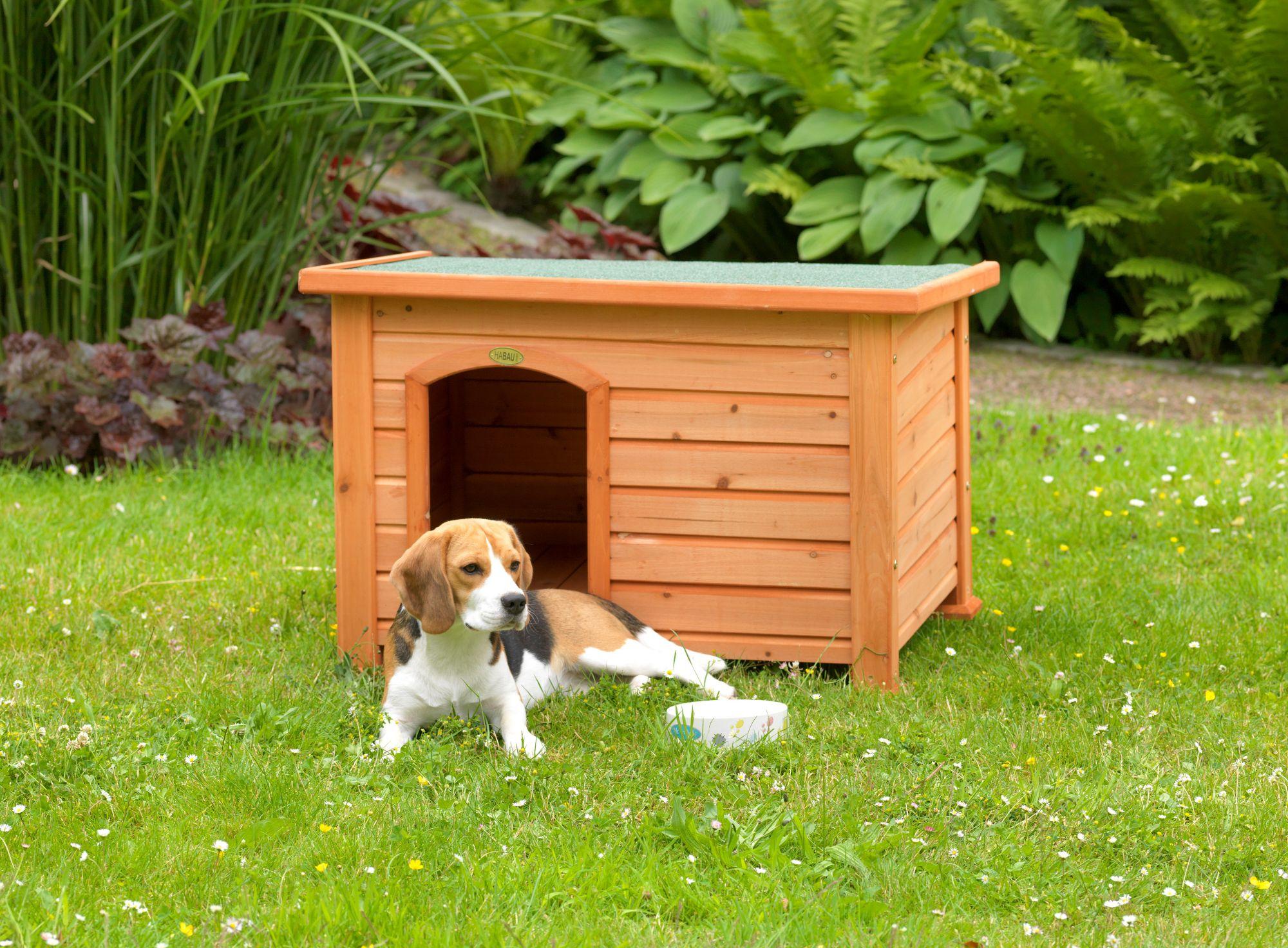 HABAU Hundehütte »Beagle«, B/T/H: 84,5/62,5/57 cm, inkl. Fußboden