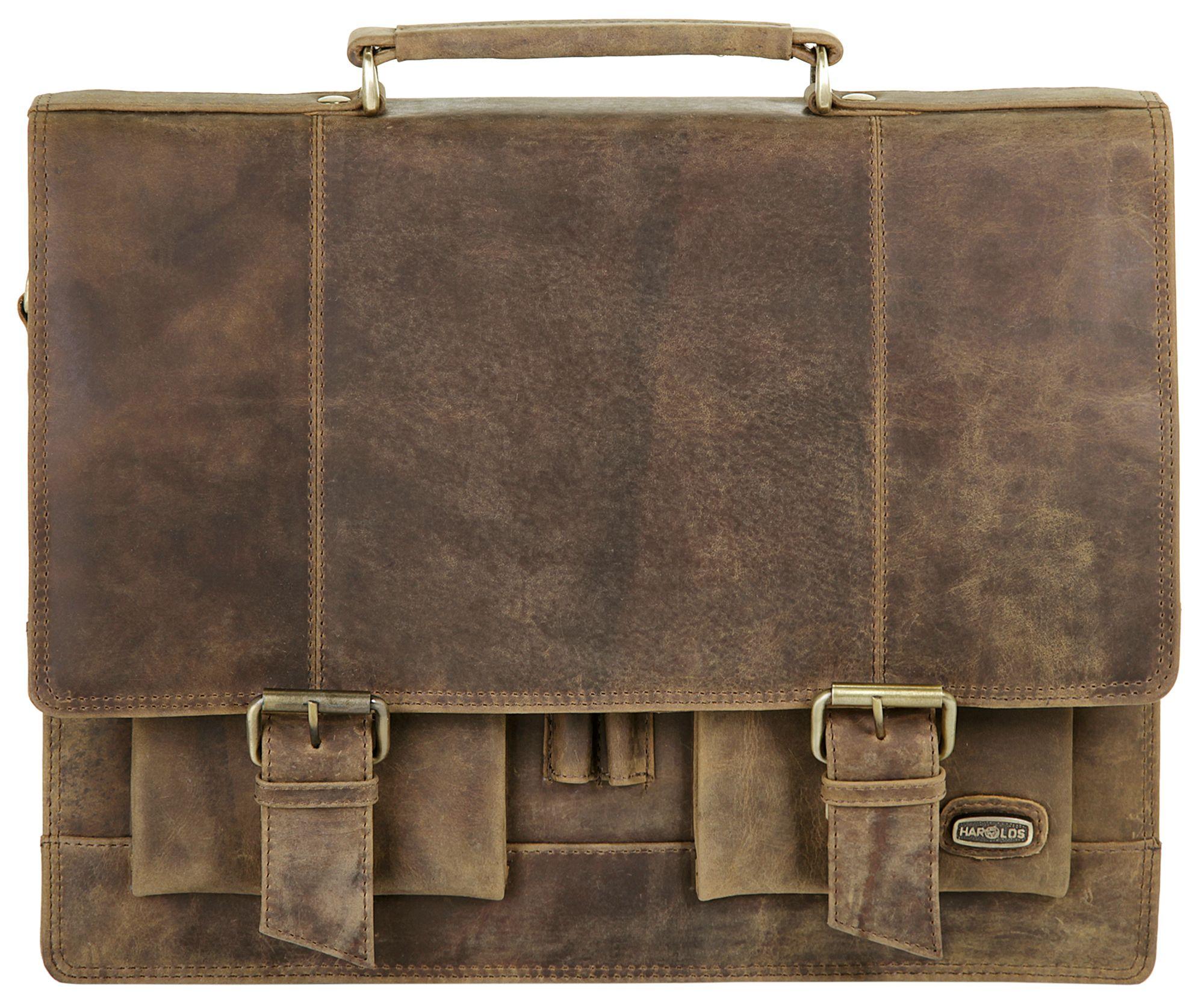 HAROLDS Harold's Leder Aktentasche »Antik«