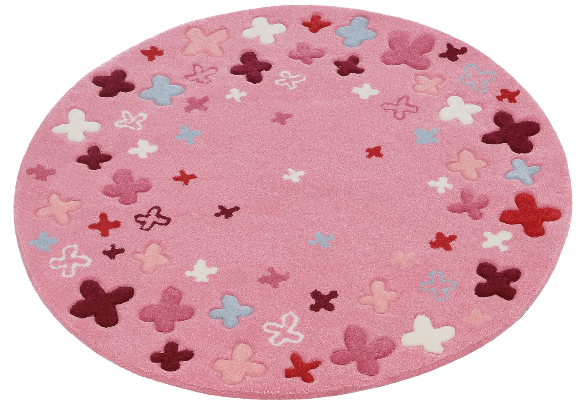 ESPRIT HOME Kinder-Teppich, Esprit, »Bloom Field«, handgetuftet