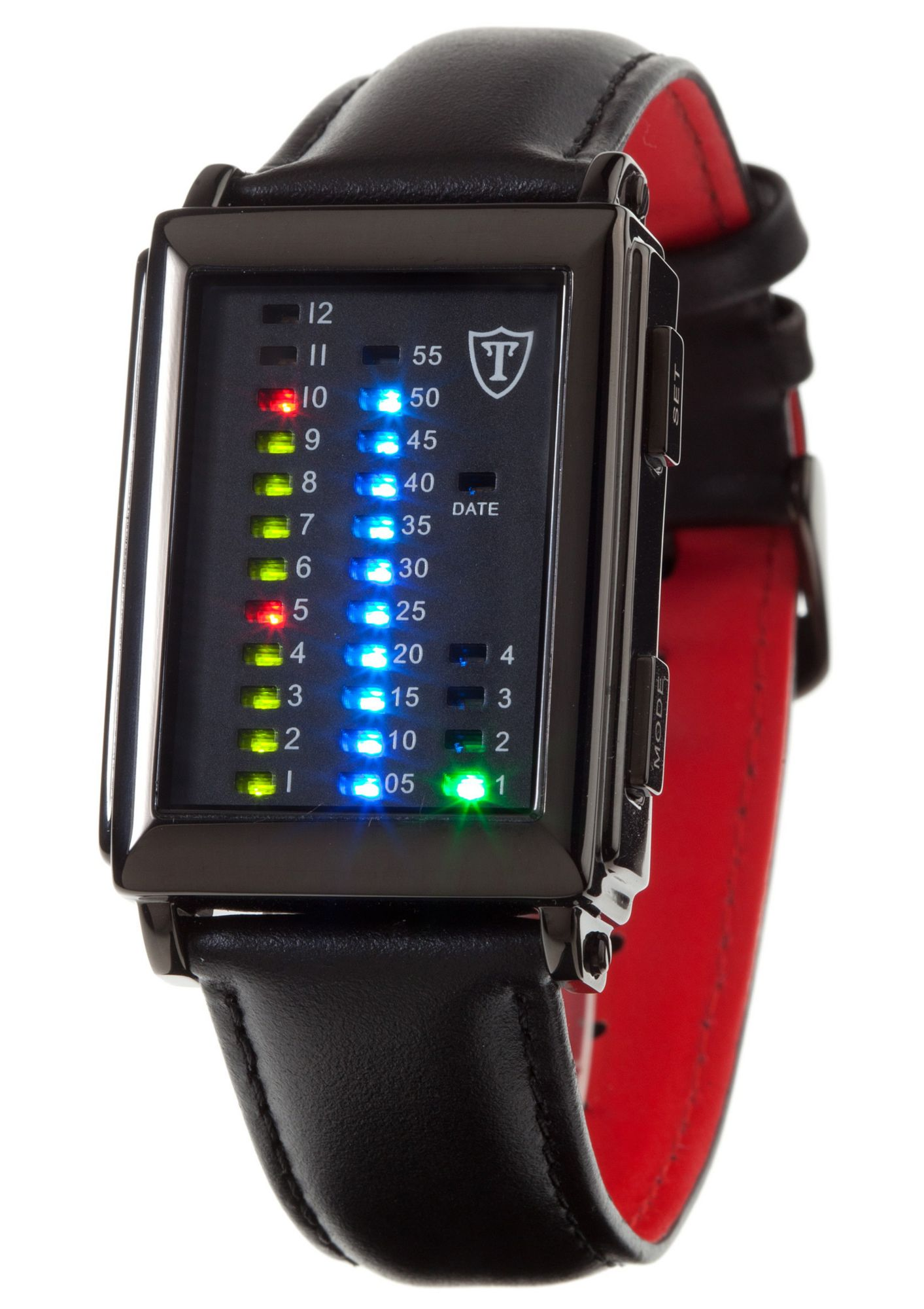 DETOMASO Detomaso Quarzuhr »Spacy Timeline 1, G-30723S«