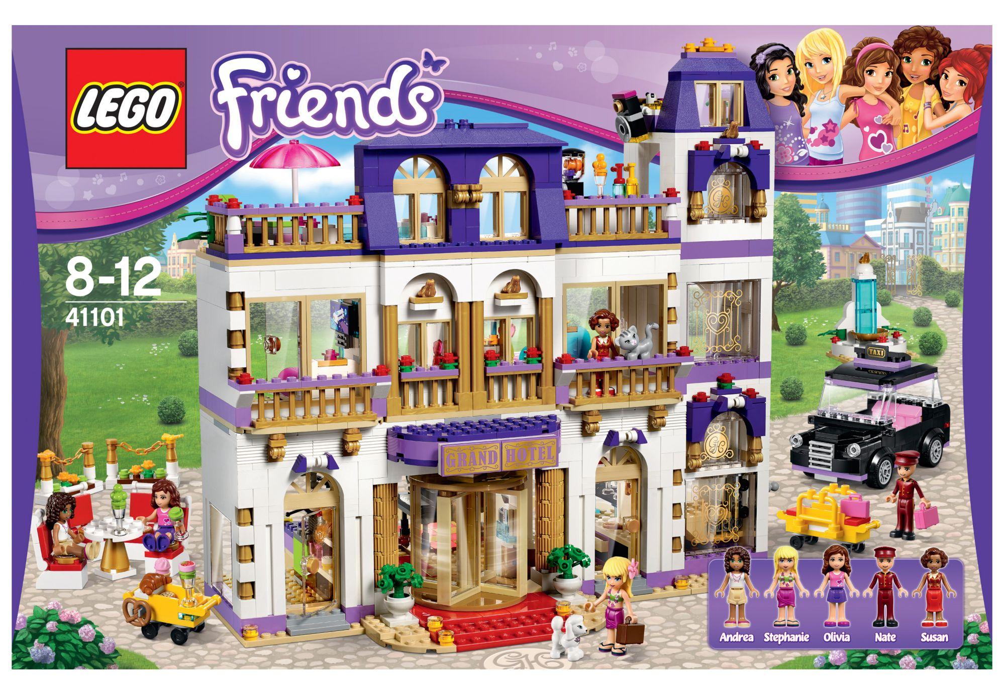 LEGO® 41101 Friends Heartlake Großes Hotel, Konstruktionsspielzeug