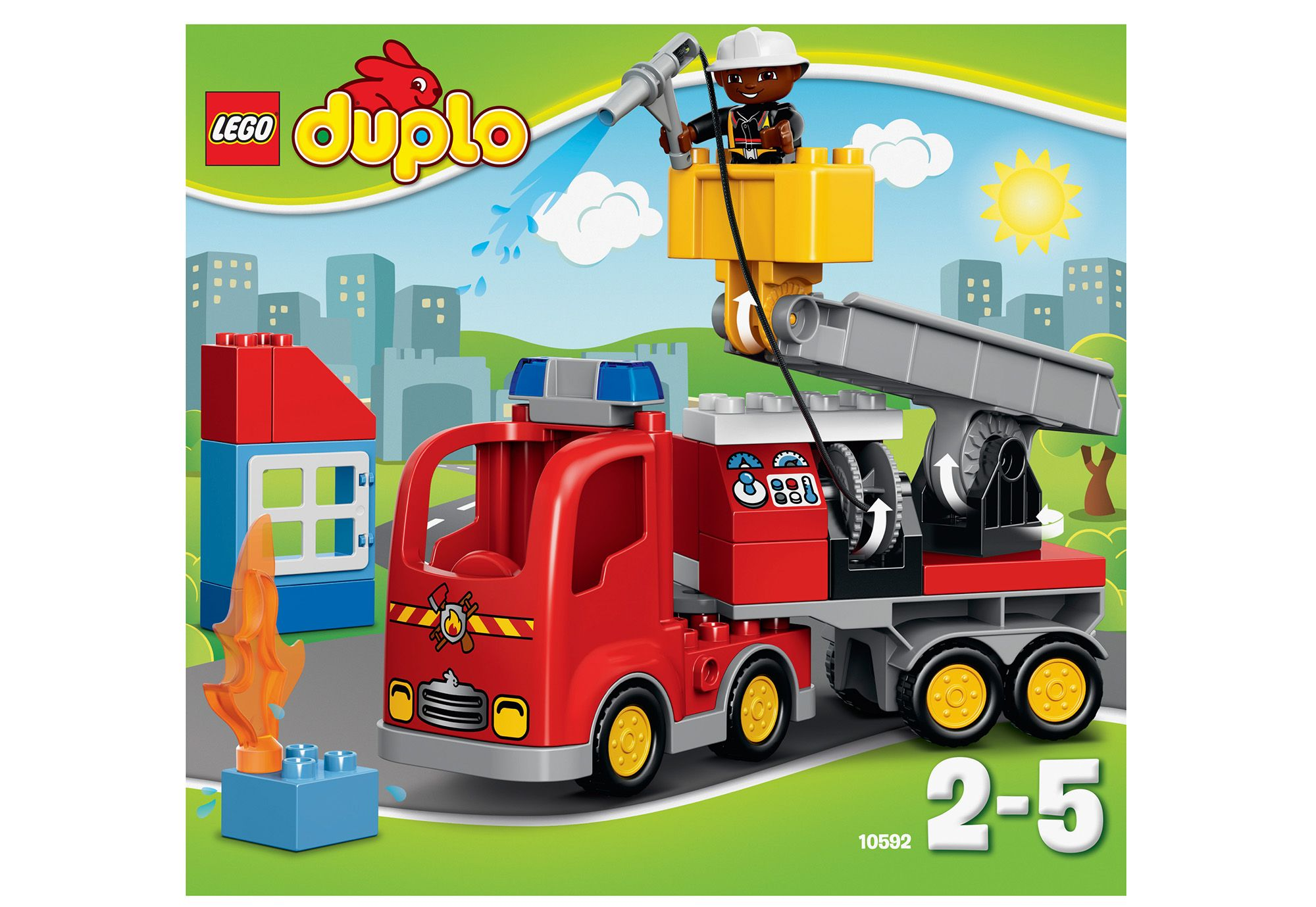 LEGO® 10592 DUPLO Löschfahrzeug, Konstruktionsspielzeug