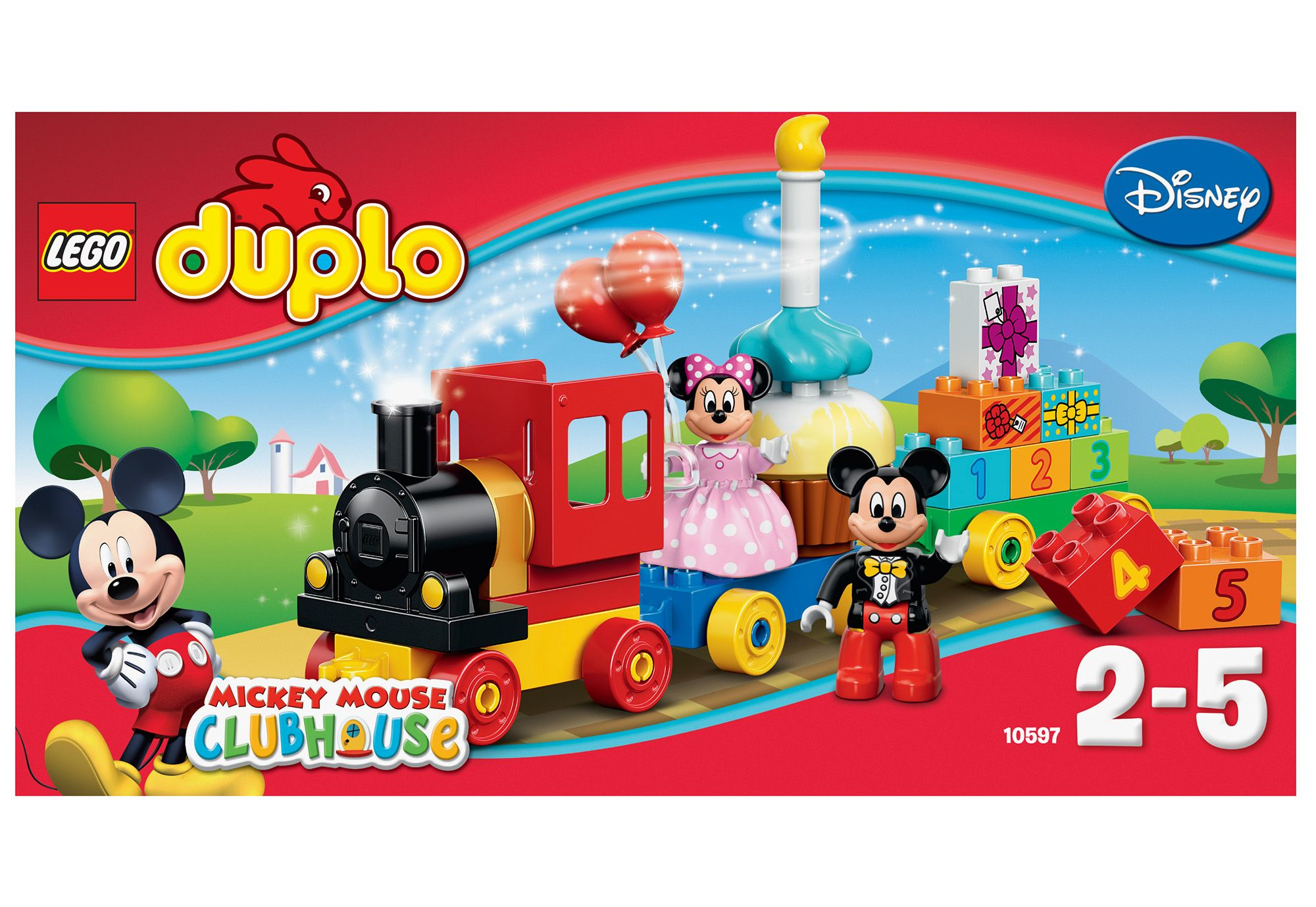 LEGO® 10597 DUPLO Disney Geburtstagsparade, Konstruktionsspielzeug