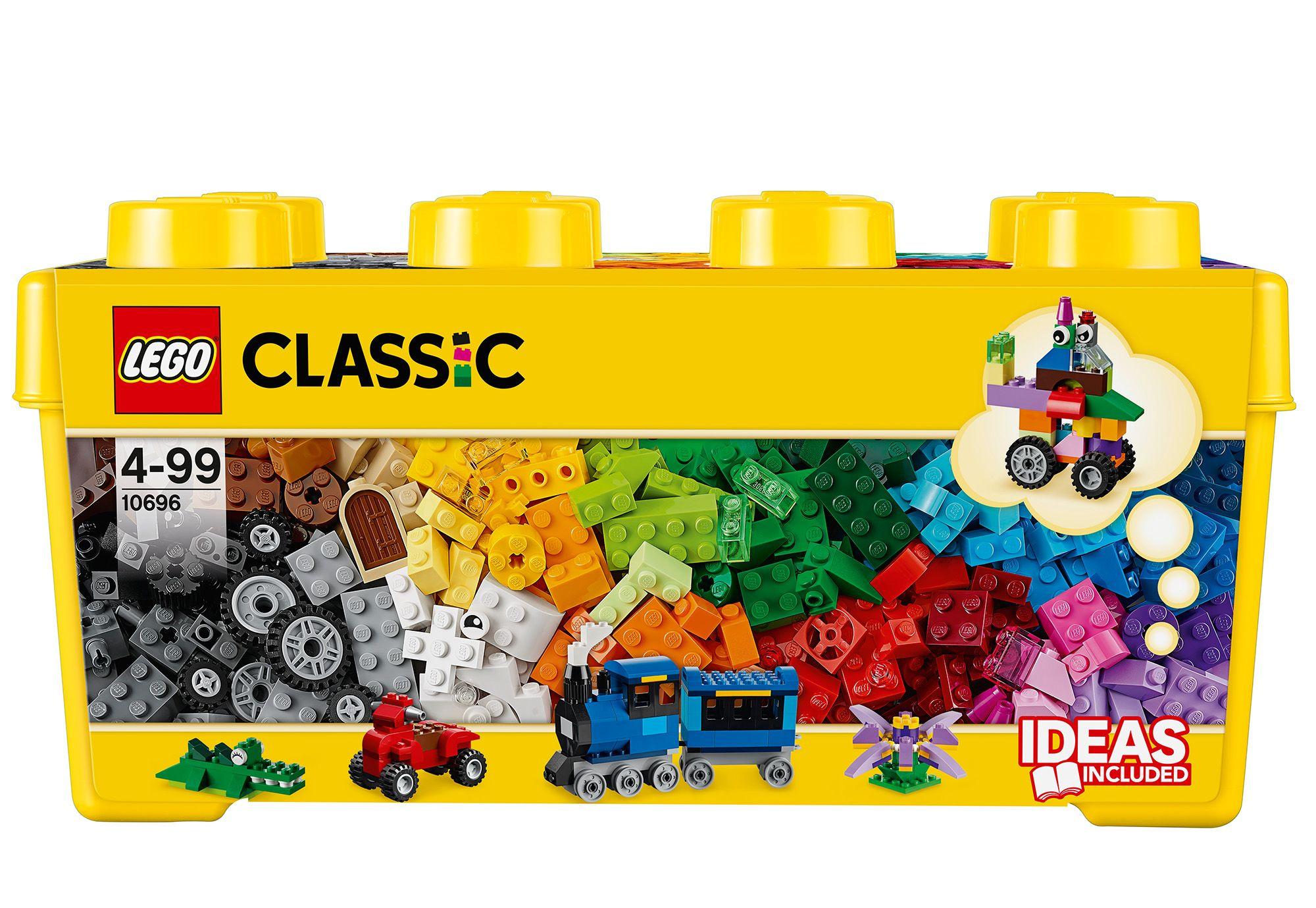 LEGO® 10696 Classic Mittelgroße Bausteine-Box, Konstruktionsspielzeug