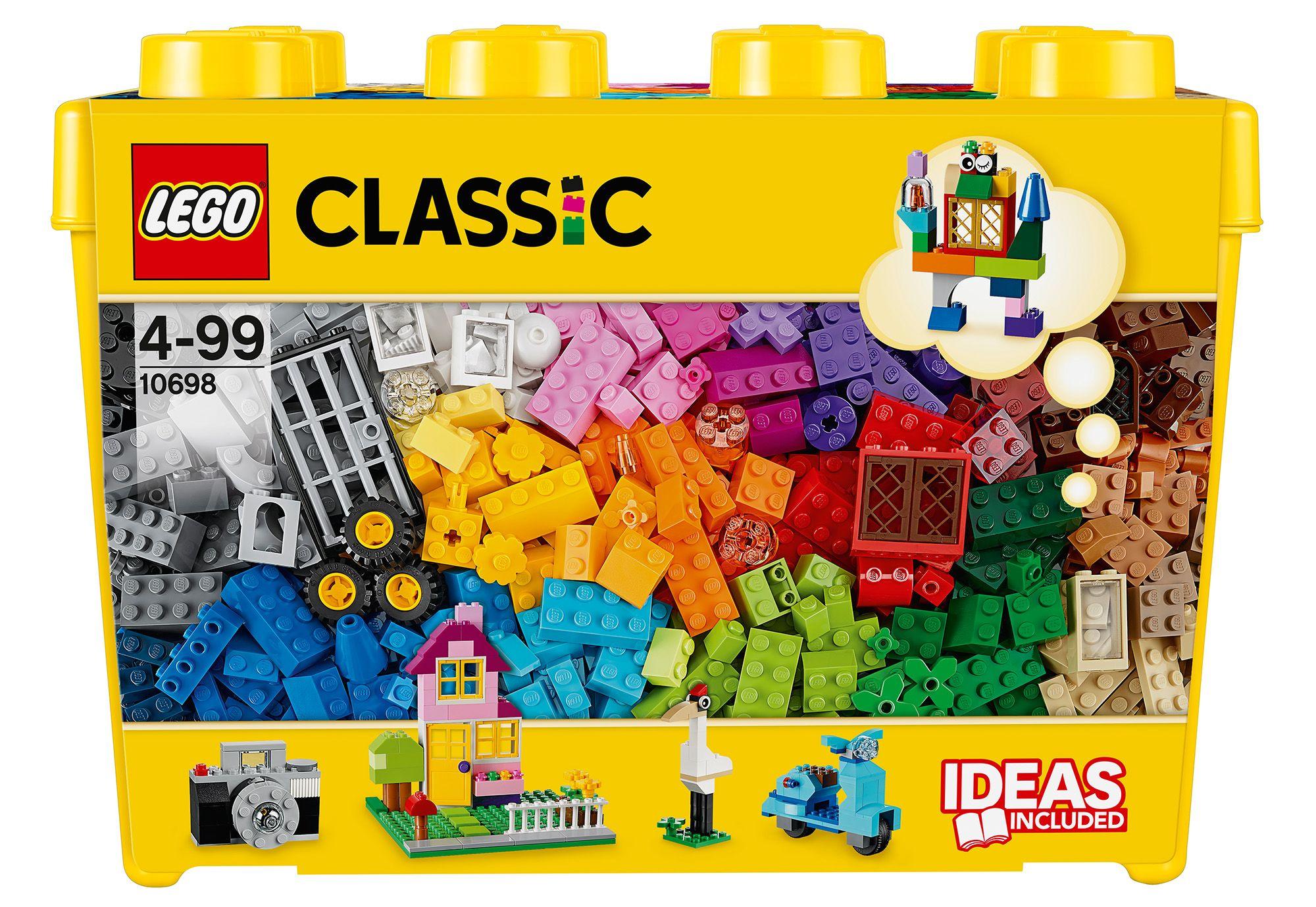 LEGO® 10698 Classic Große Bausteine-Box, Konstruktionsspielzeug