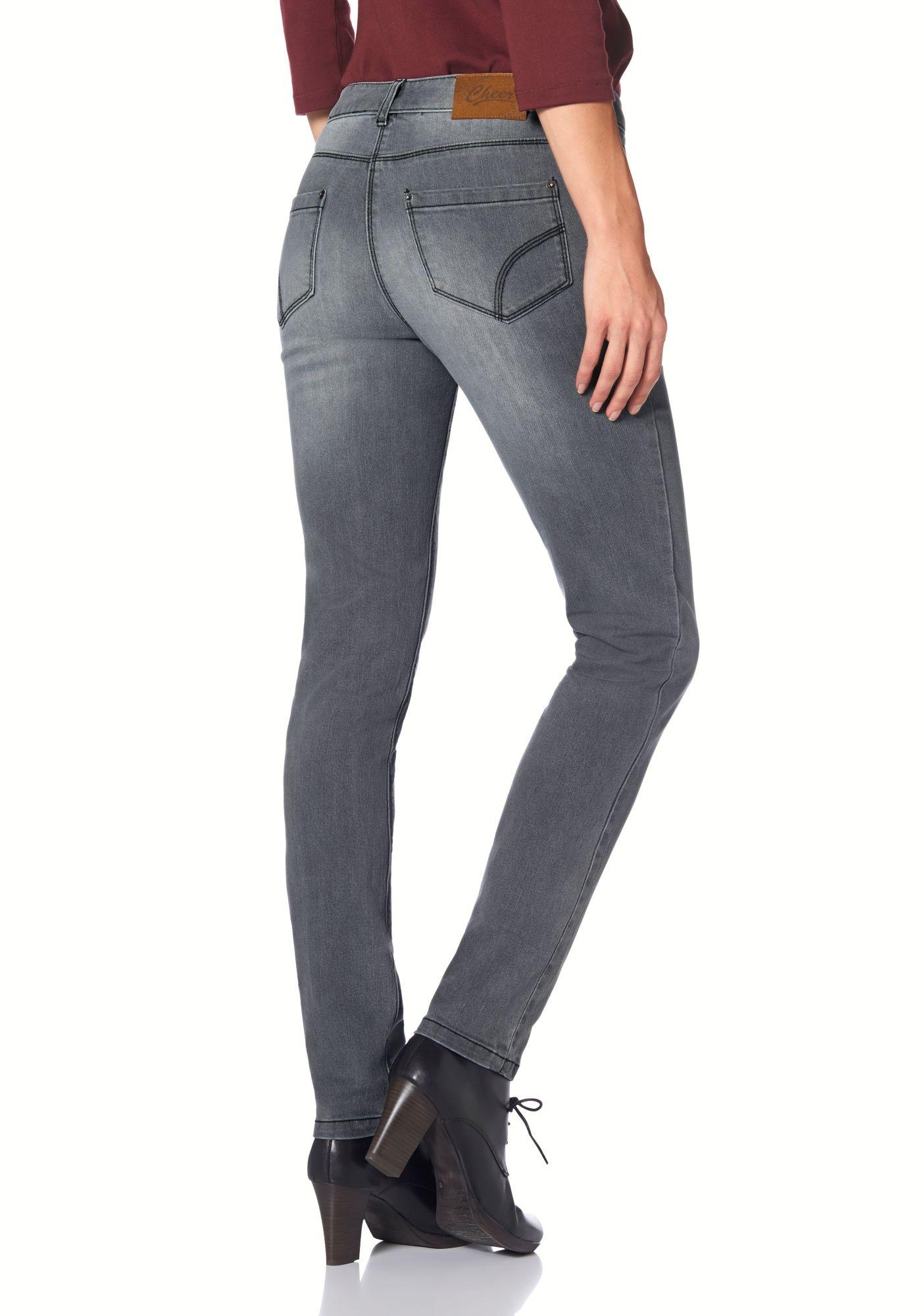 CHEER Cheer 5-Pocket-Jeans »Pia«