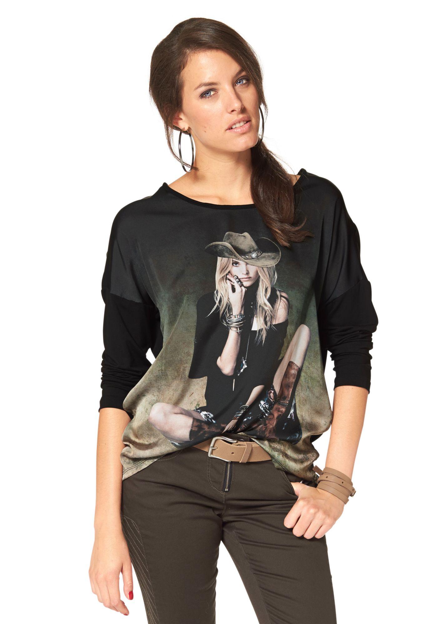 ANISTON Aniston Langarmshirt