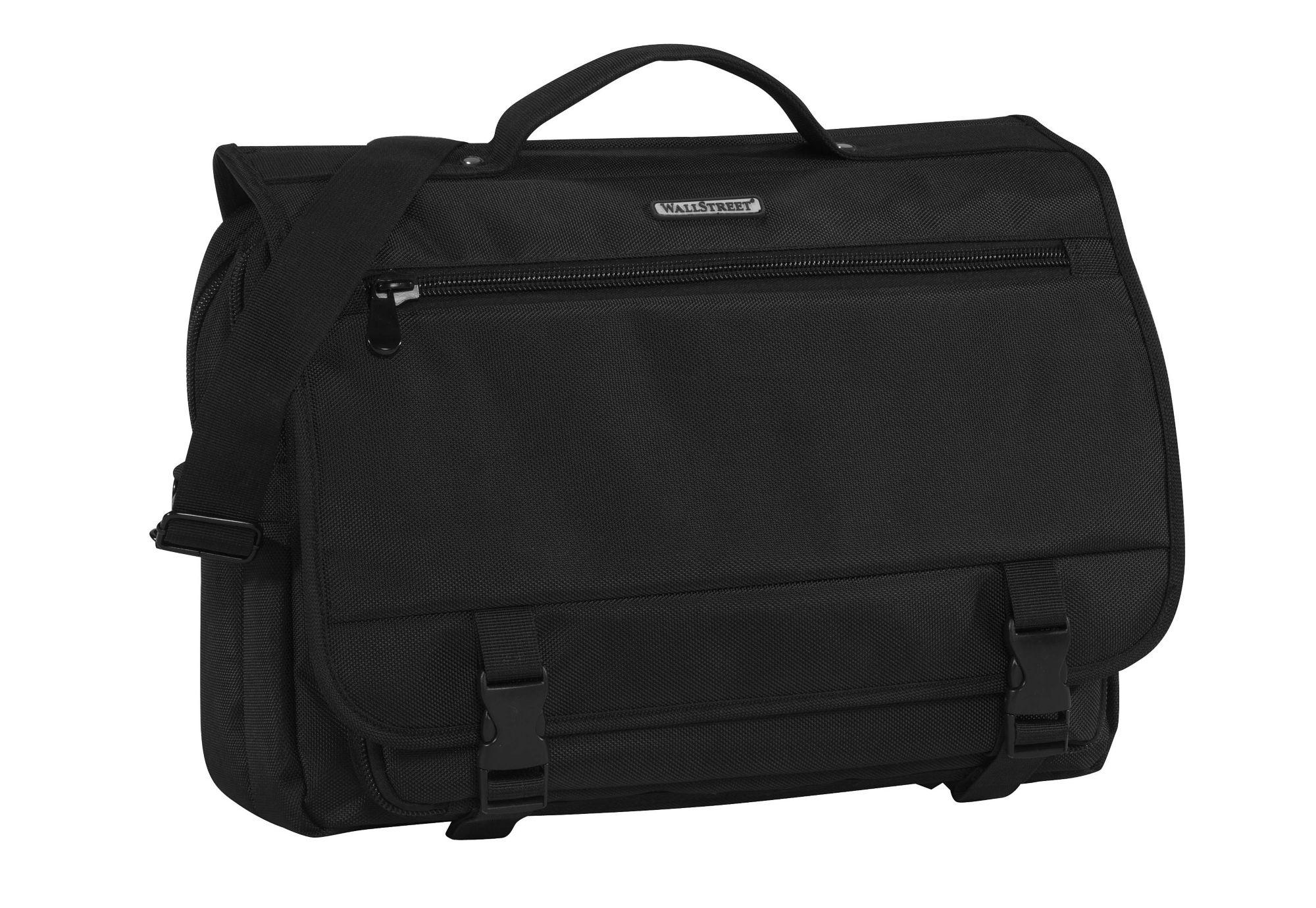 Businessaktentasche zum Umhängen mit Laptopfach, »Wallstreet Business Bag«