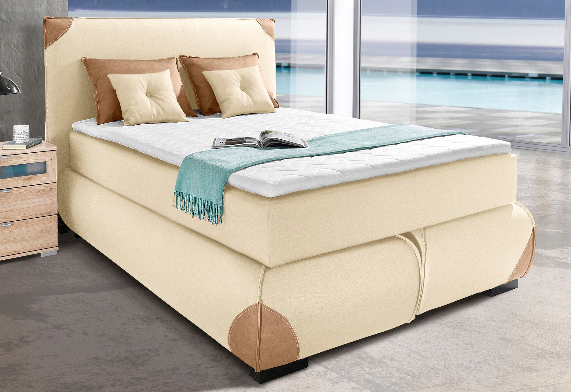 COLLECTION AB Collection AB Boxspringbett inkl. Topper und Kissen