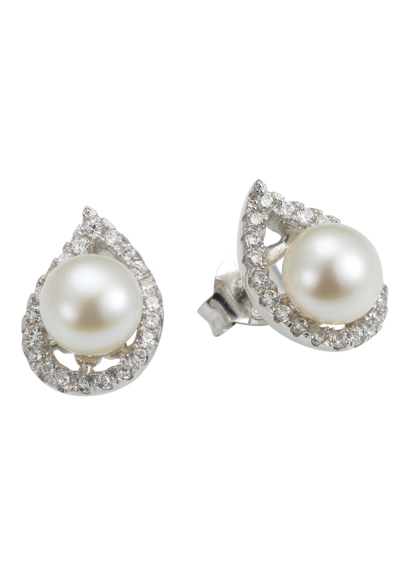 ADRIANA Adriana Paar Ohrstecker, »La mia perla A46«